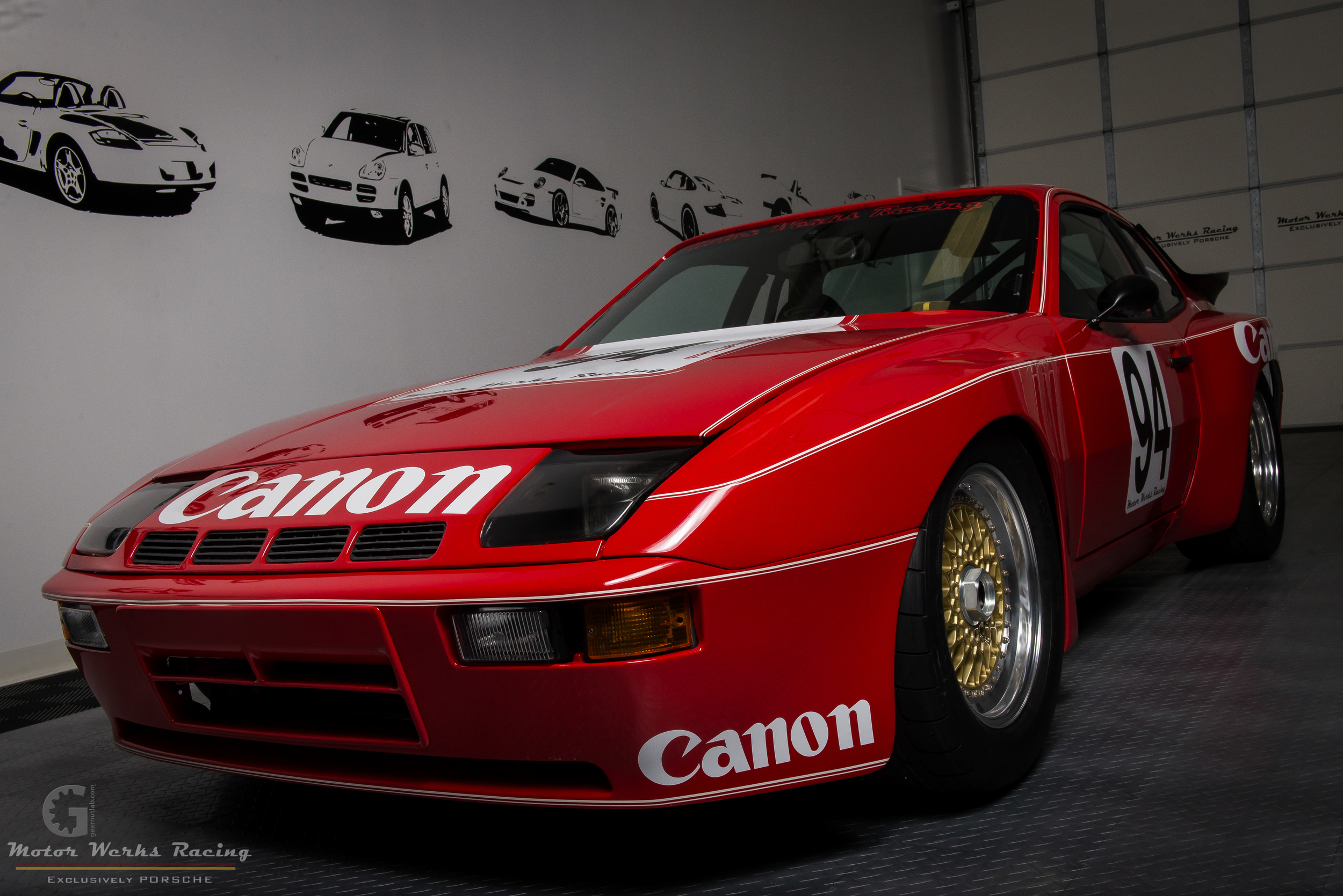 Porsche 924 GTR Canon Tribute Track Build