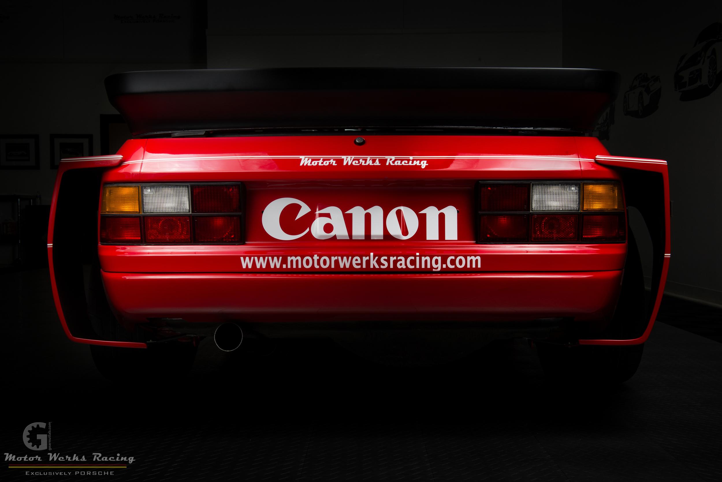 Motor Werks Racing Porsche 924 GTR Tribute