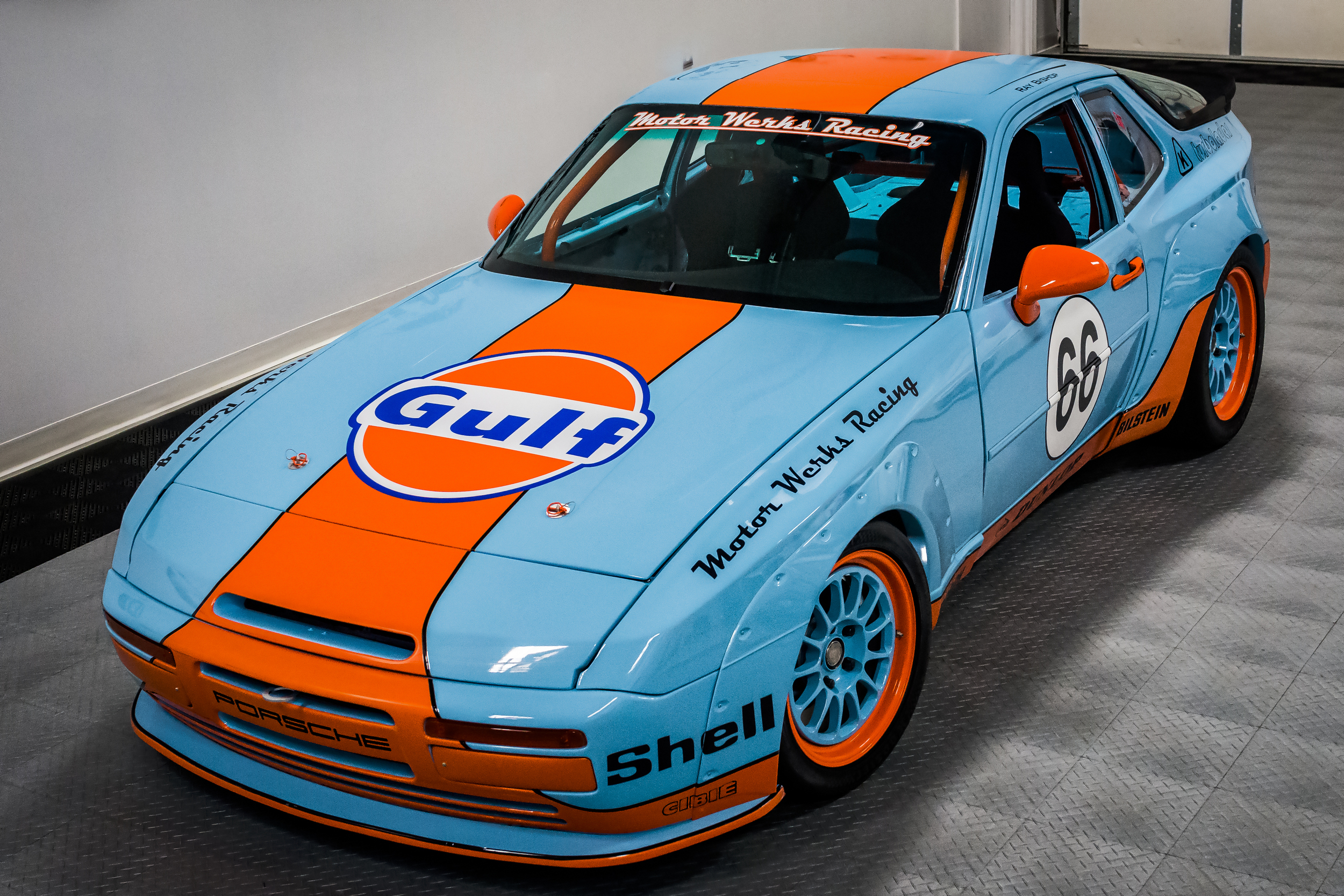 Gulf Tribute with Porsche 944 1.8T Engine Conversion