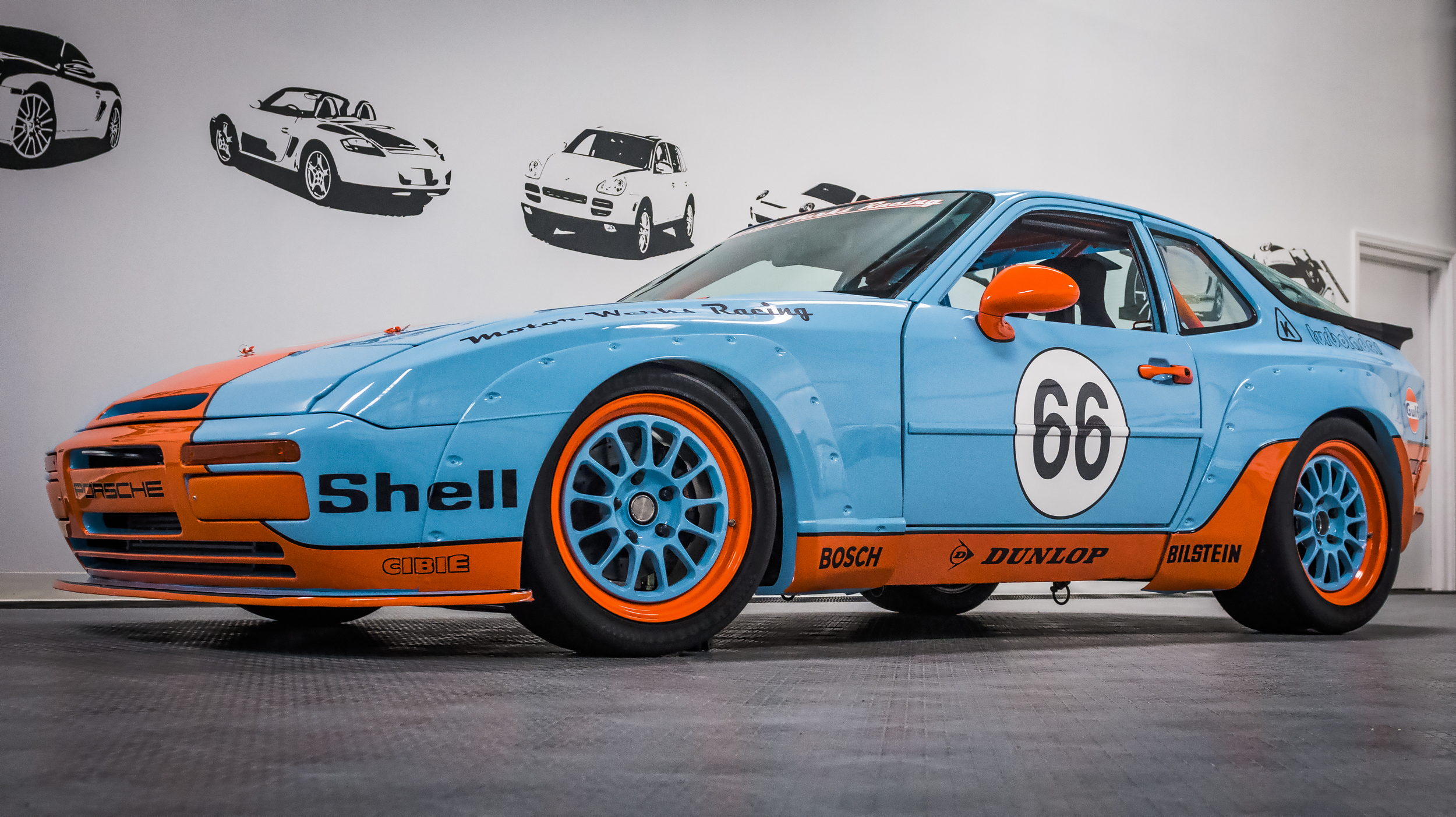 Porsche 944 Gulf Tribute with 1.8T Engine Conversion
