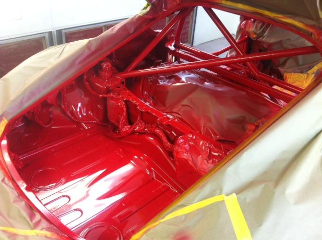 Motor Werks Racing Porsche Cayman Cage