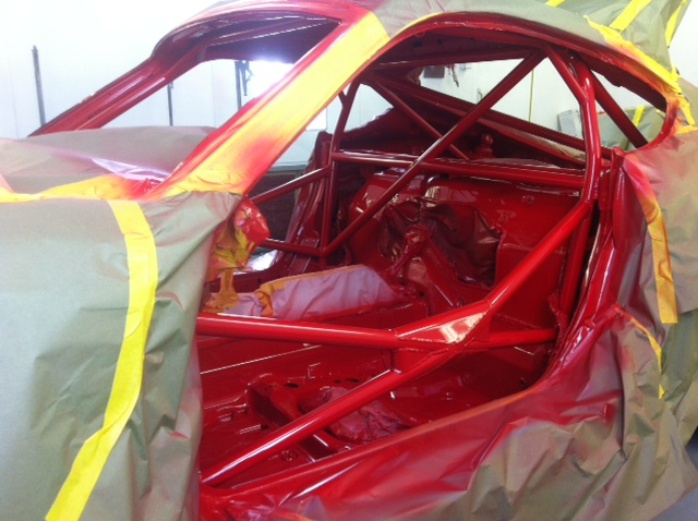 Motor Werks Racing Porsche Cayman Weld In Roll Cage