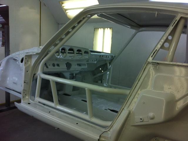 Motor Werks Racing Porsche 993 Roll Cage