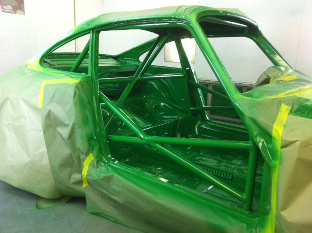 Motor Werks Racing Porsche 911 Weld In Door Bars