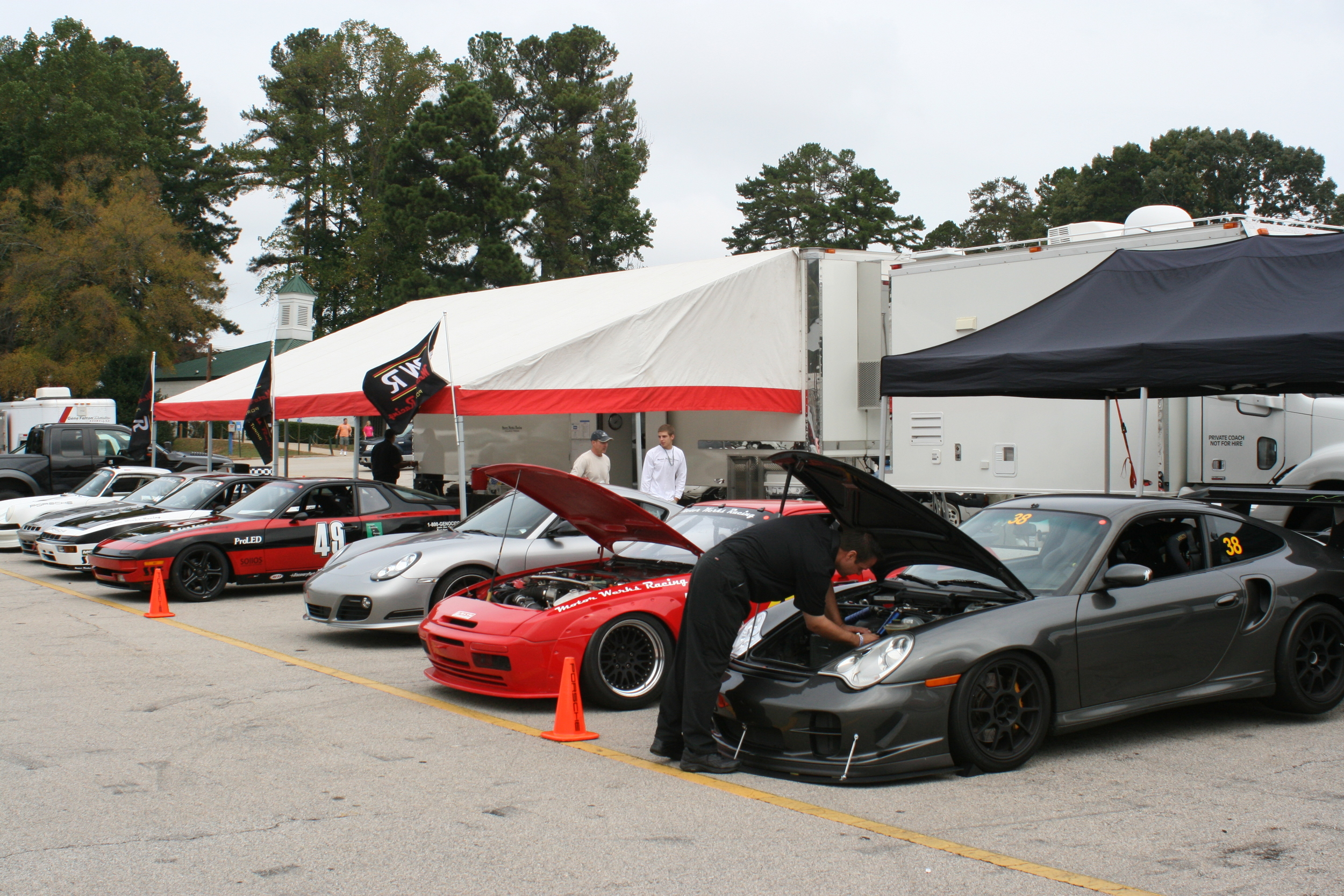 Motor Werks Racing Porsche Track Service at Road Atlanta