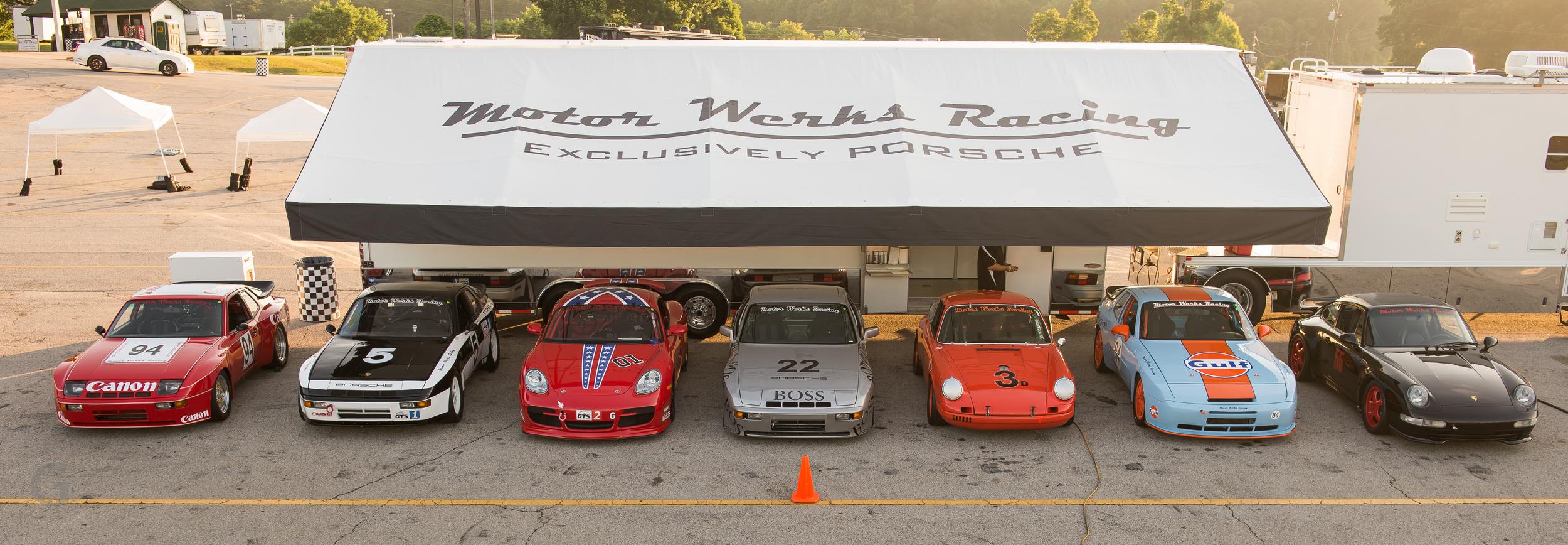 Motor Werks Racing Porsche Race Track Services