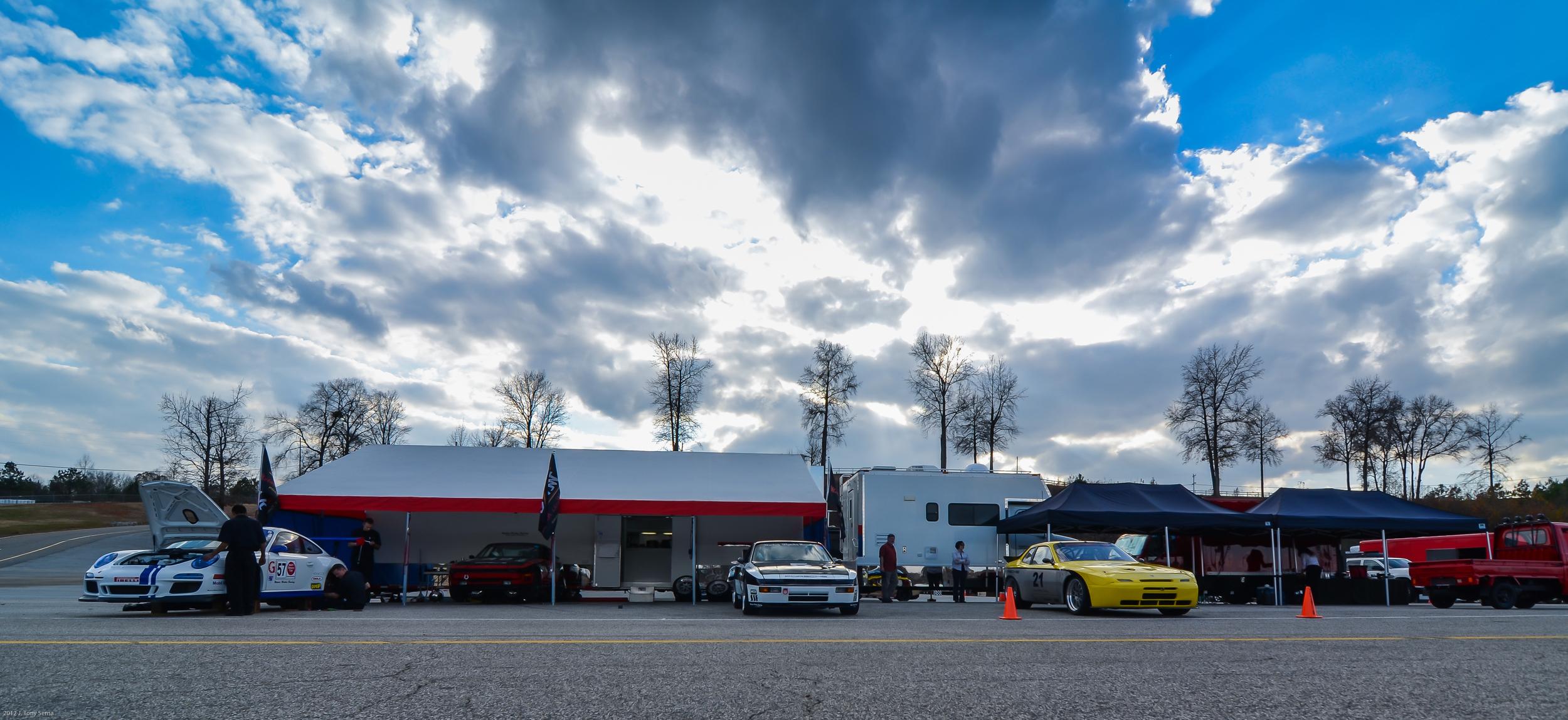 Motor Werks Racing Porsche Arrive & Drive Track Support