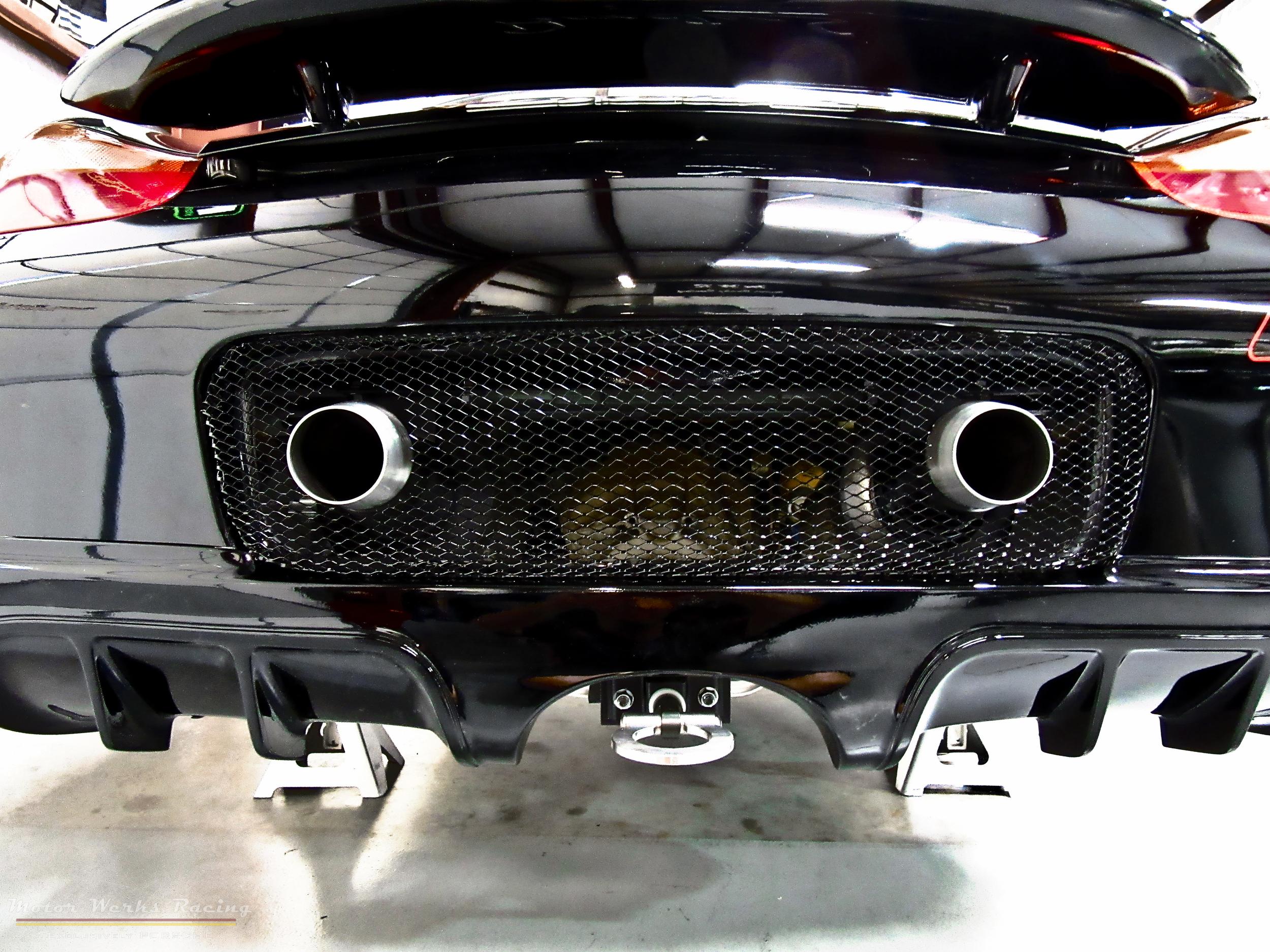 Motor Werks Racing Porsche Boxster Exhaust