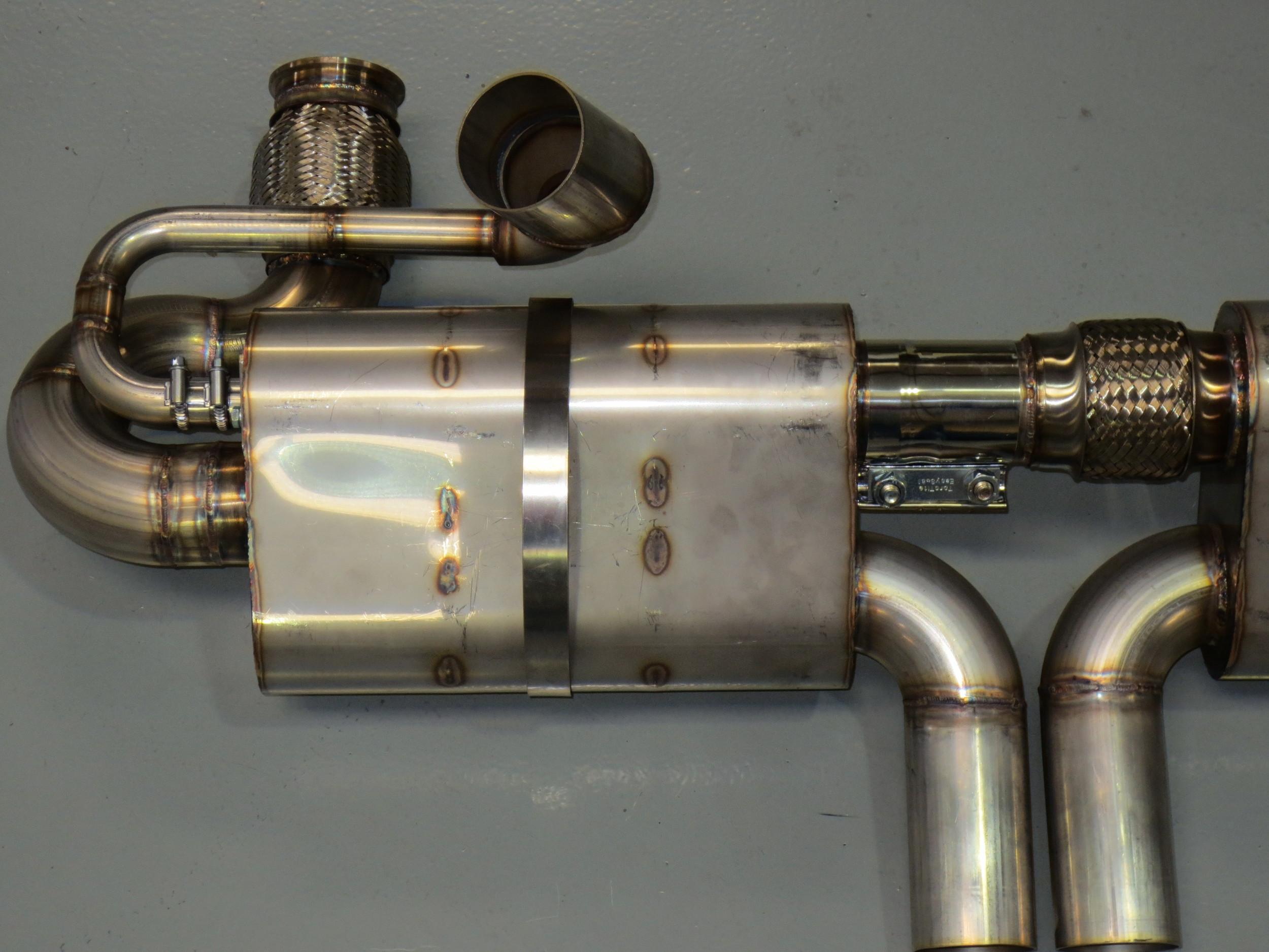 Motor Werks Racing Porsche Custom Built Exhaust