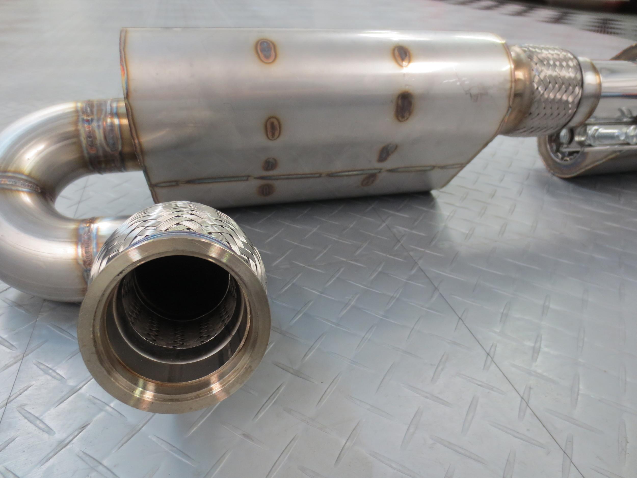 Motor Werks Racing Porsche Exhaust System