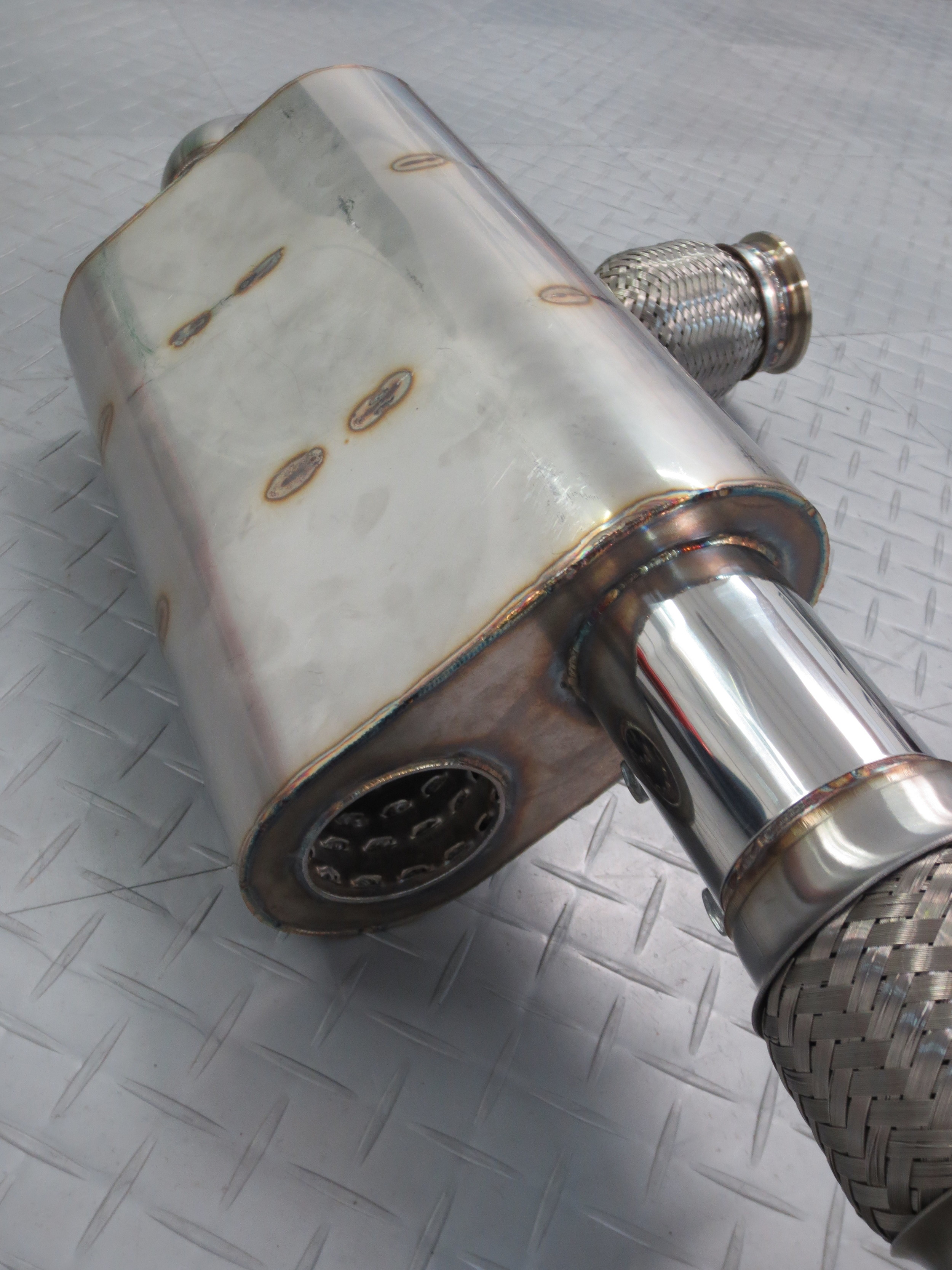 Motor Werks Racing Custom Porsche Exhaust System