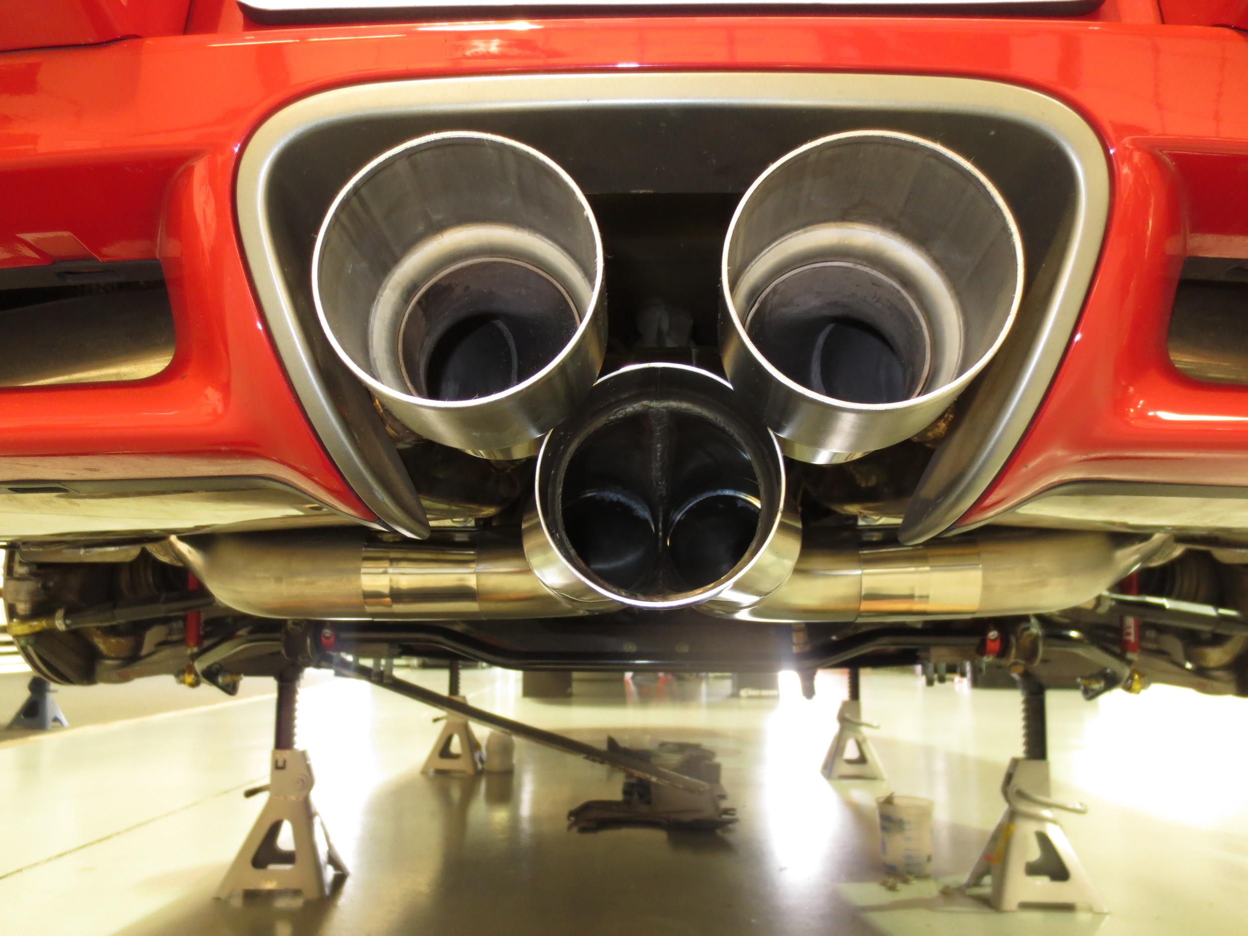 Motor Werks Racing Porsche Cayman Exhaust