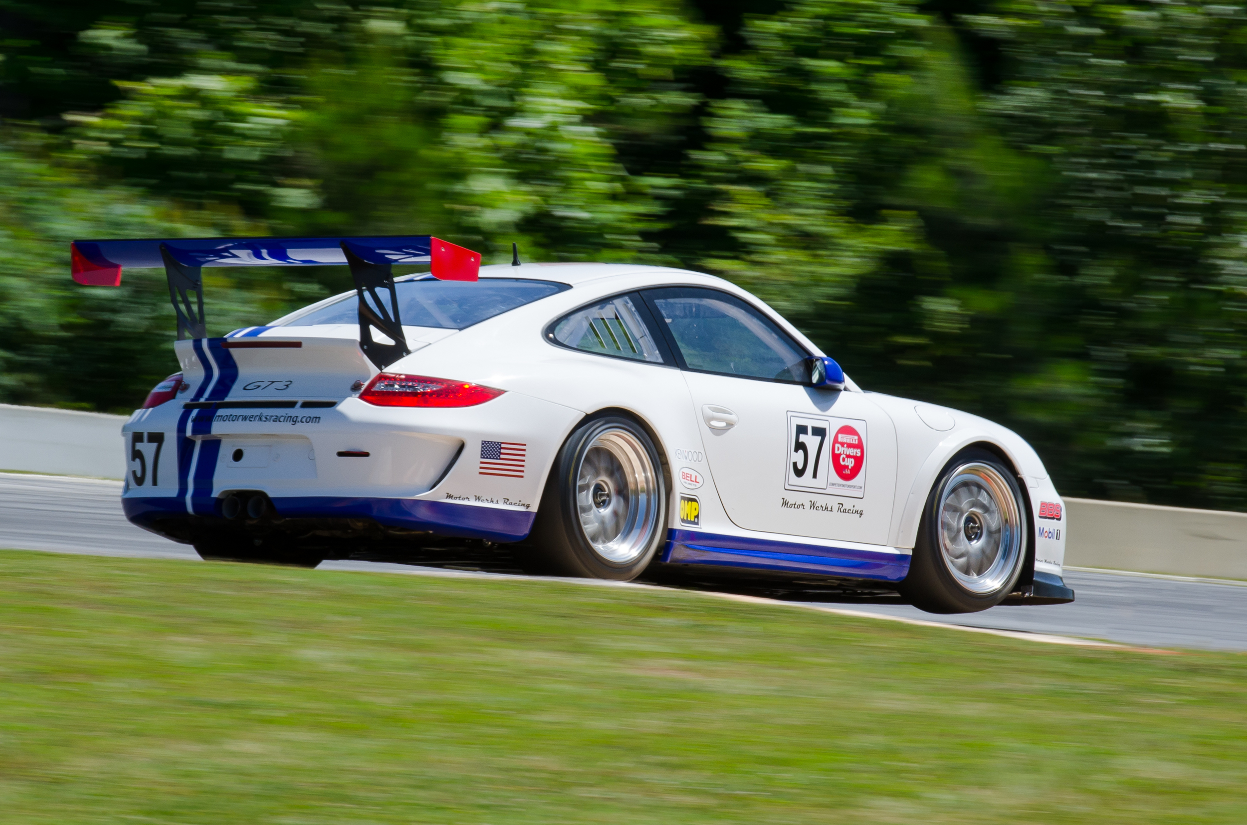 Motor Werks Racing Porsche Cup Car Support
