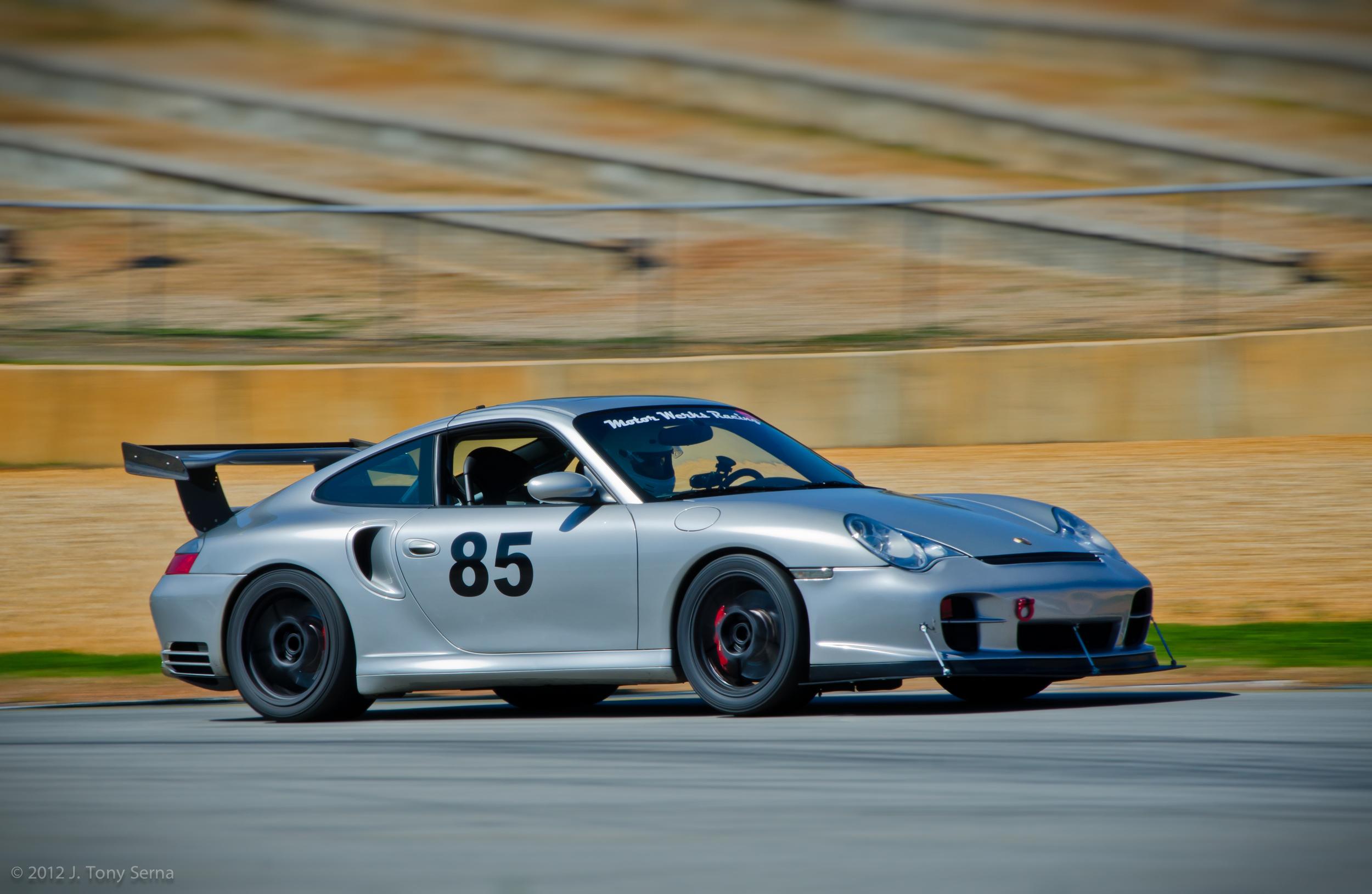Motor Werks Racing Porsche 996 Twin Turbo Track Support - Porsche 996 Turbo
