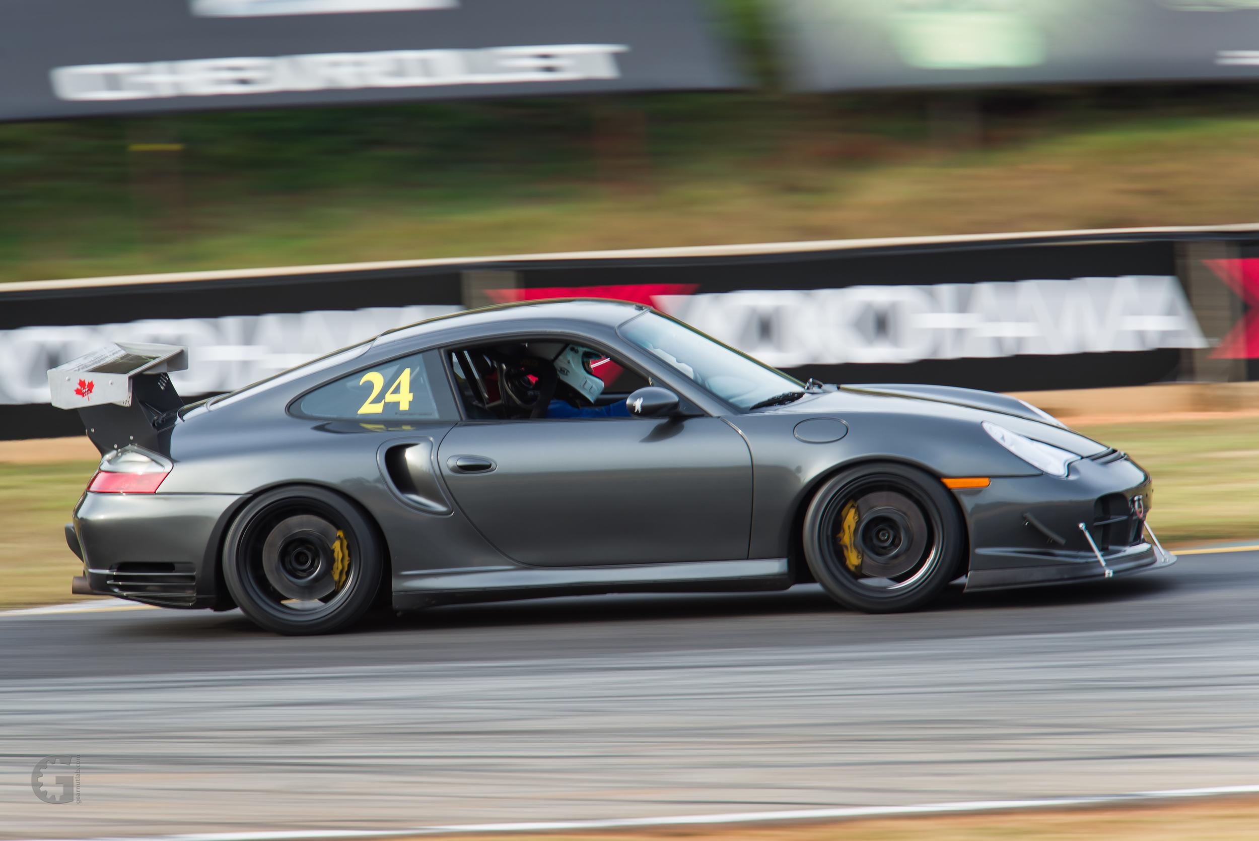 Motor Werks Racing Porsche GT2 Track Support