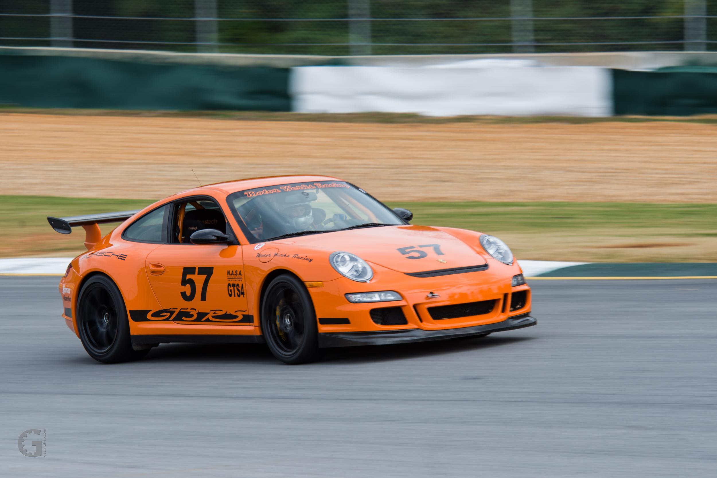 Motor Werks Racing Porsche GT3 RS Track Support