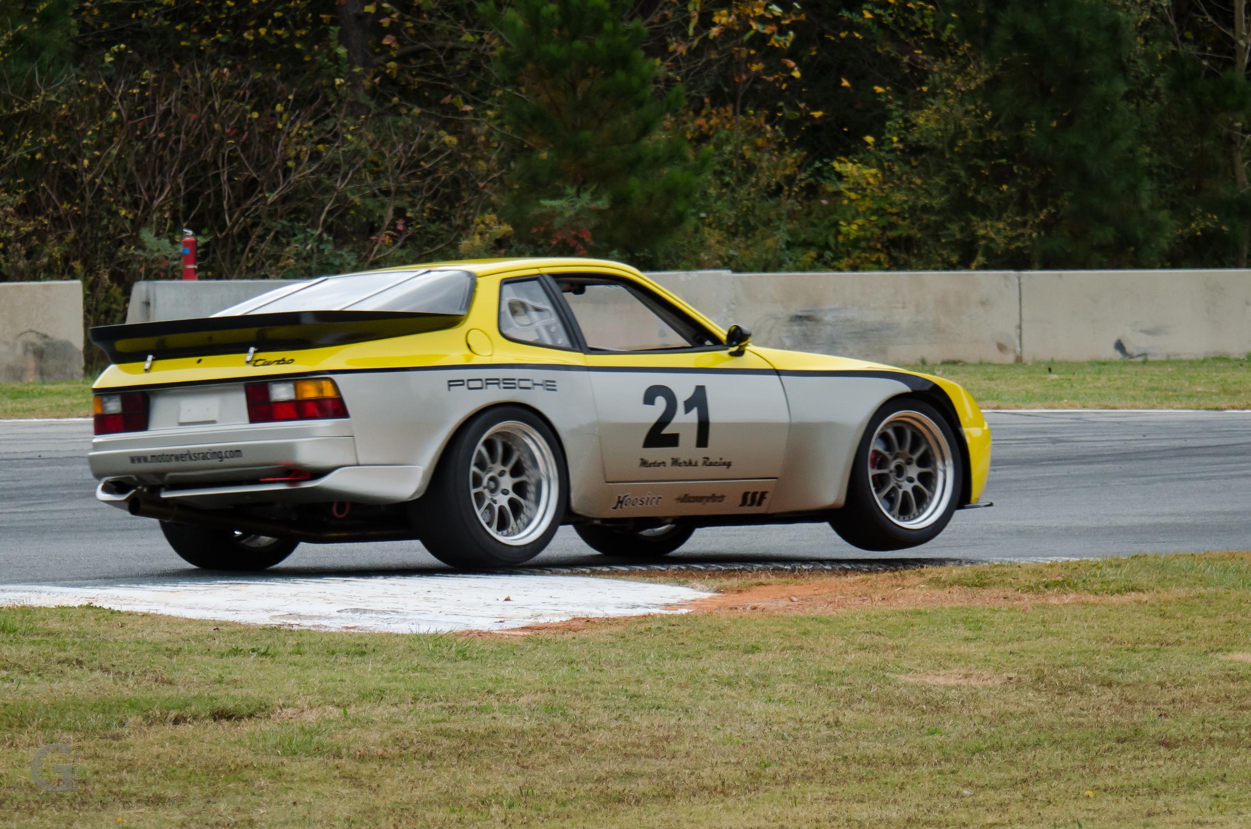 Motor Werks Racing Porsche 944 Turbo Track Support