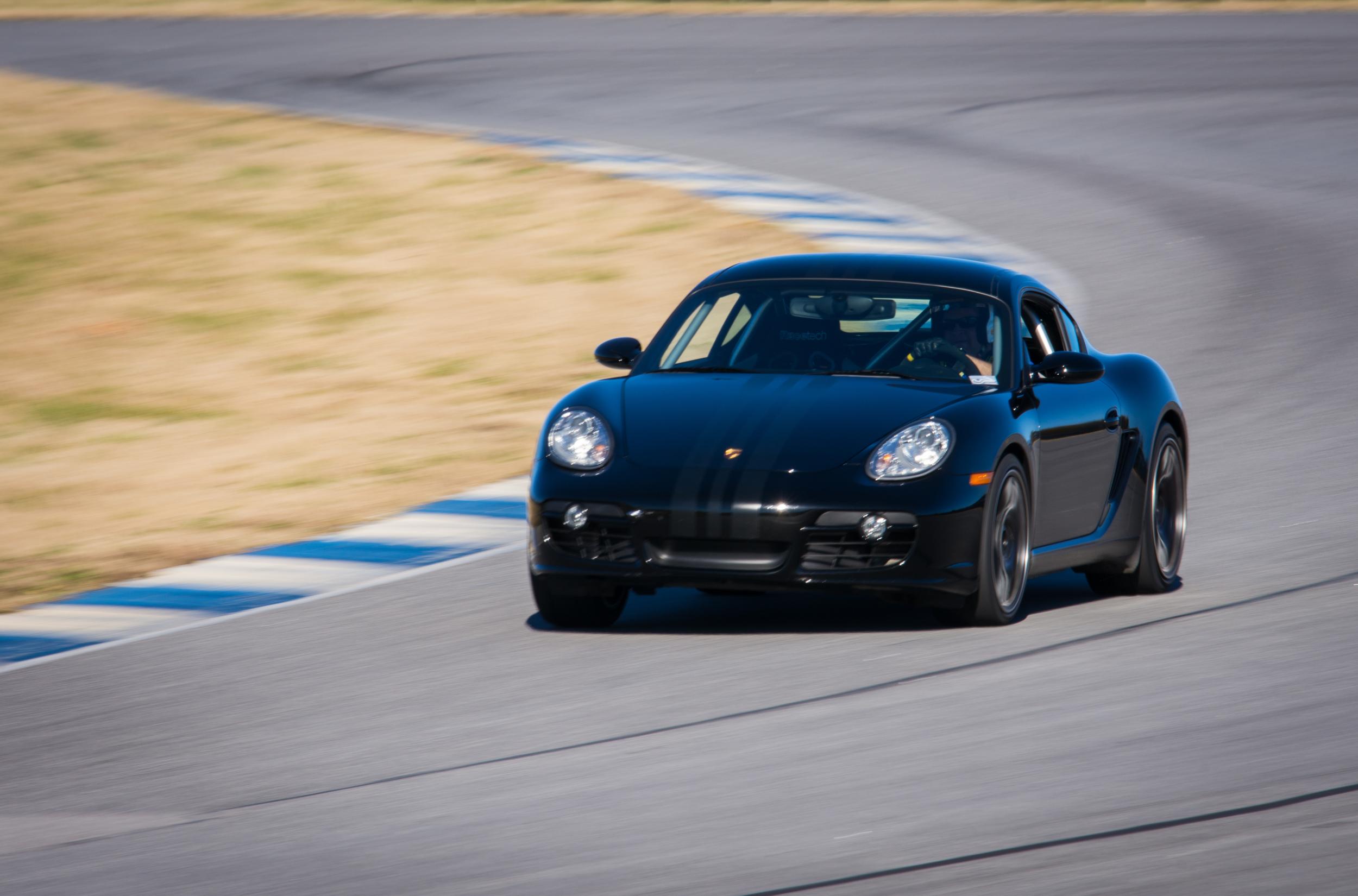 Motor Werks Racing Porsche Cayman Track Support