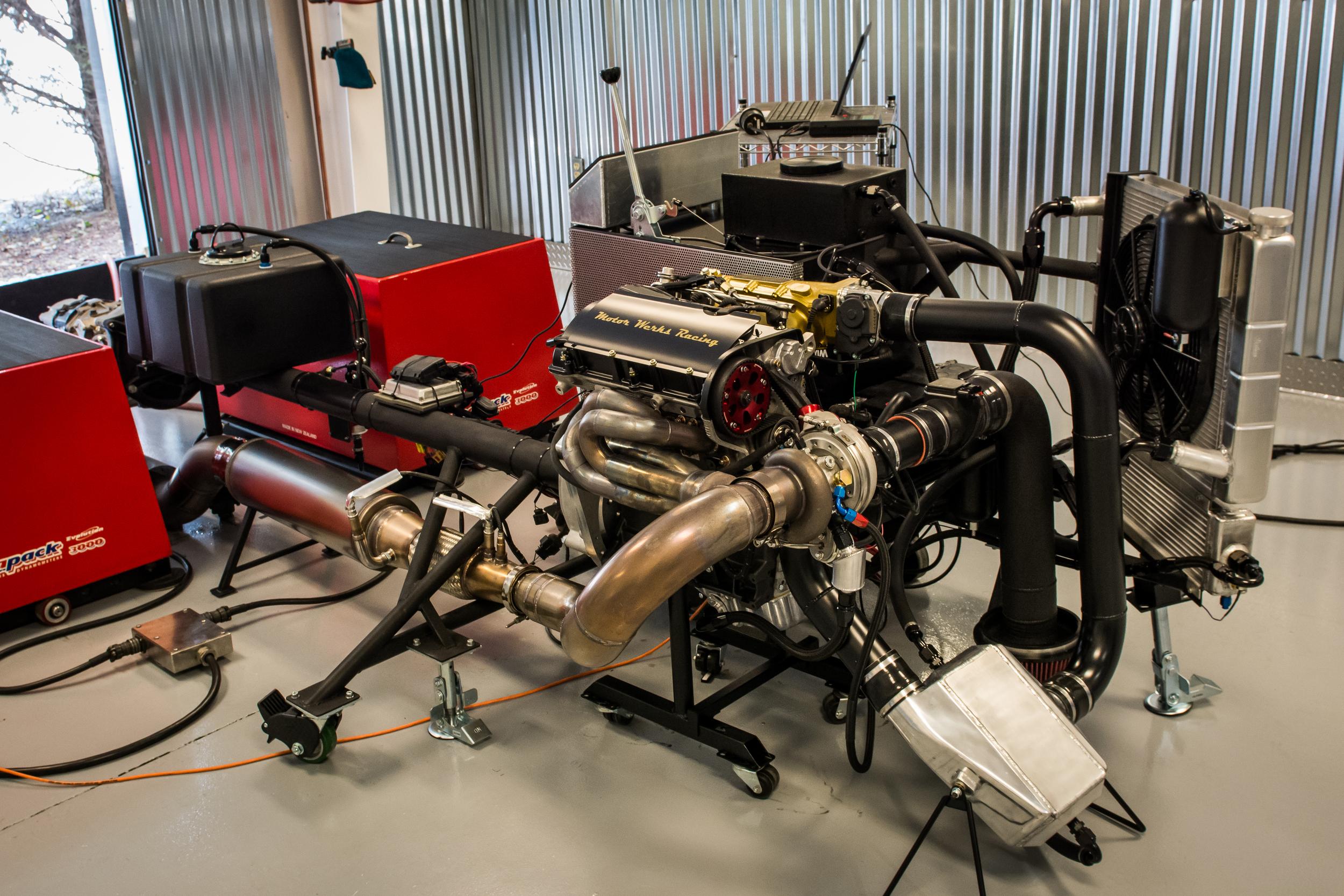 Motor Werks Racing Porsche Engine Dyno Tuning