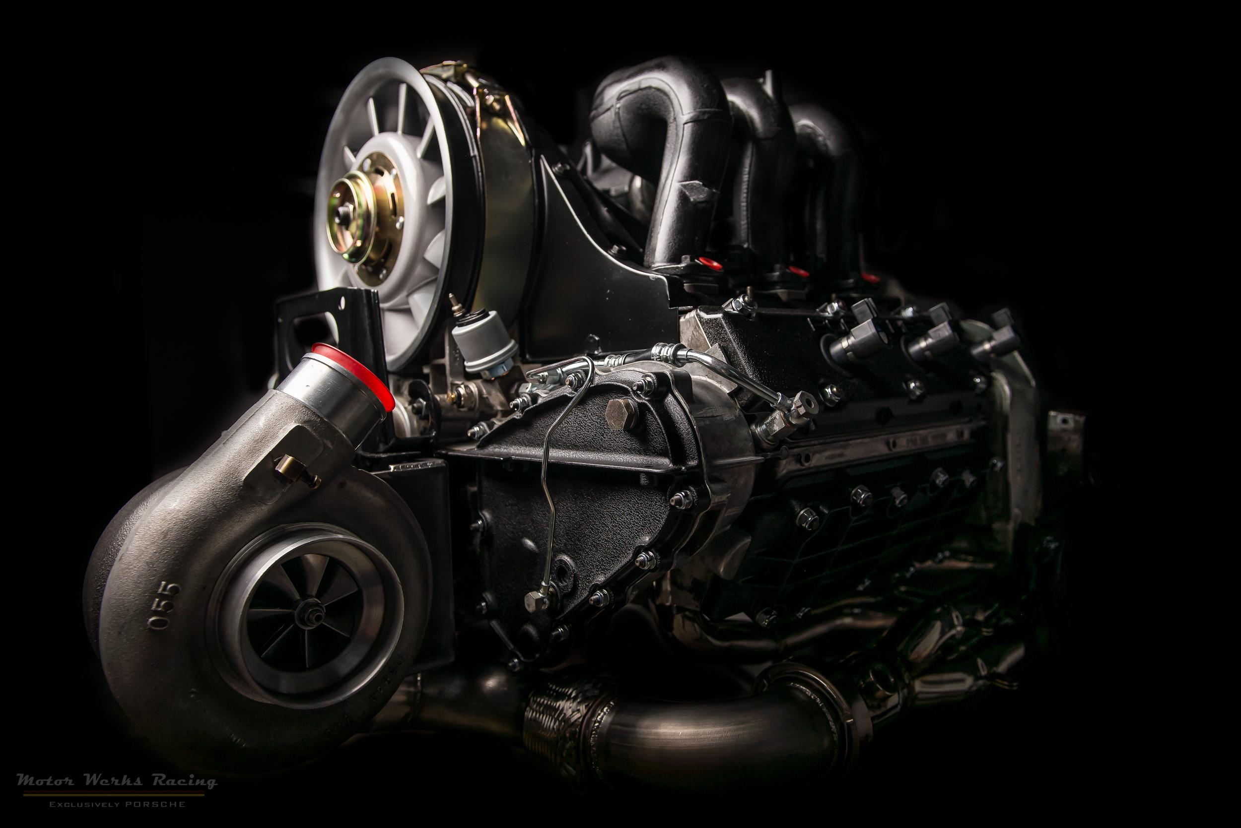 1987 Porsche 911 Turbo Engine EFI Engine Rebuild