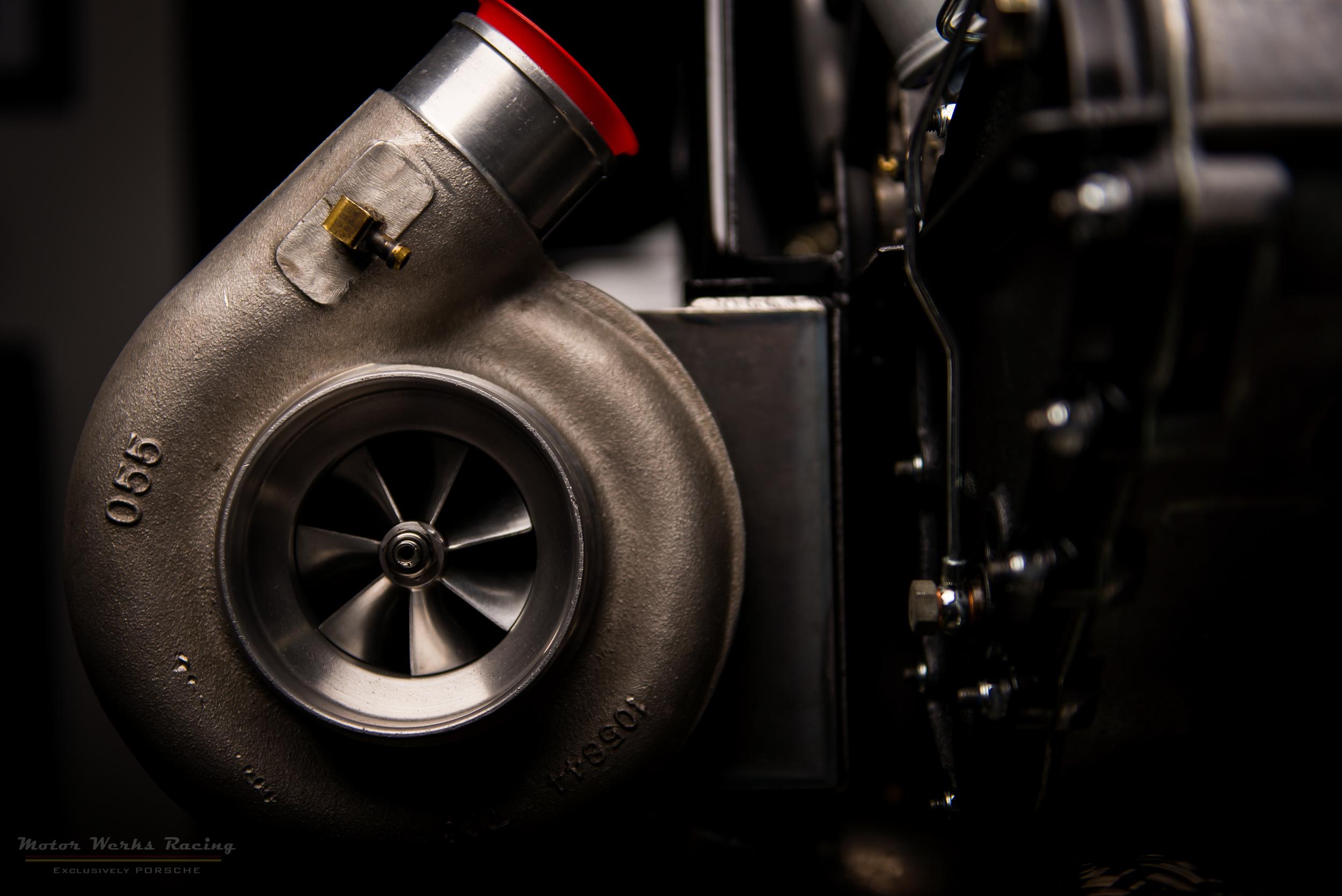 Porsche 911 Turbo Engine Rebuild