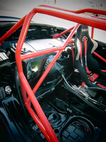 Motor Werks Racing Porsche Boxster Roll Cage Installed