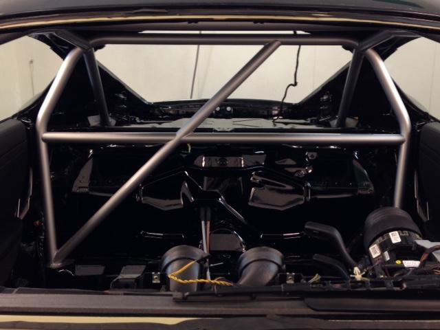 Motor Werks Racing Porsche Cayman Back Half Roll Cage