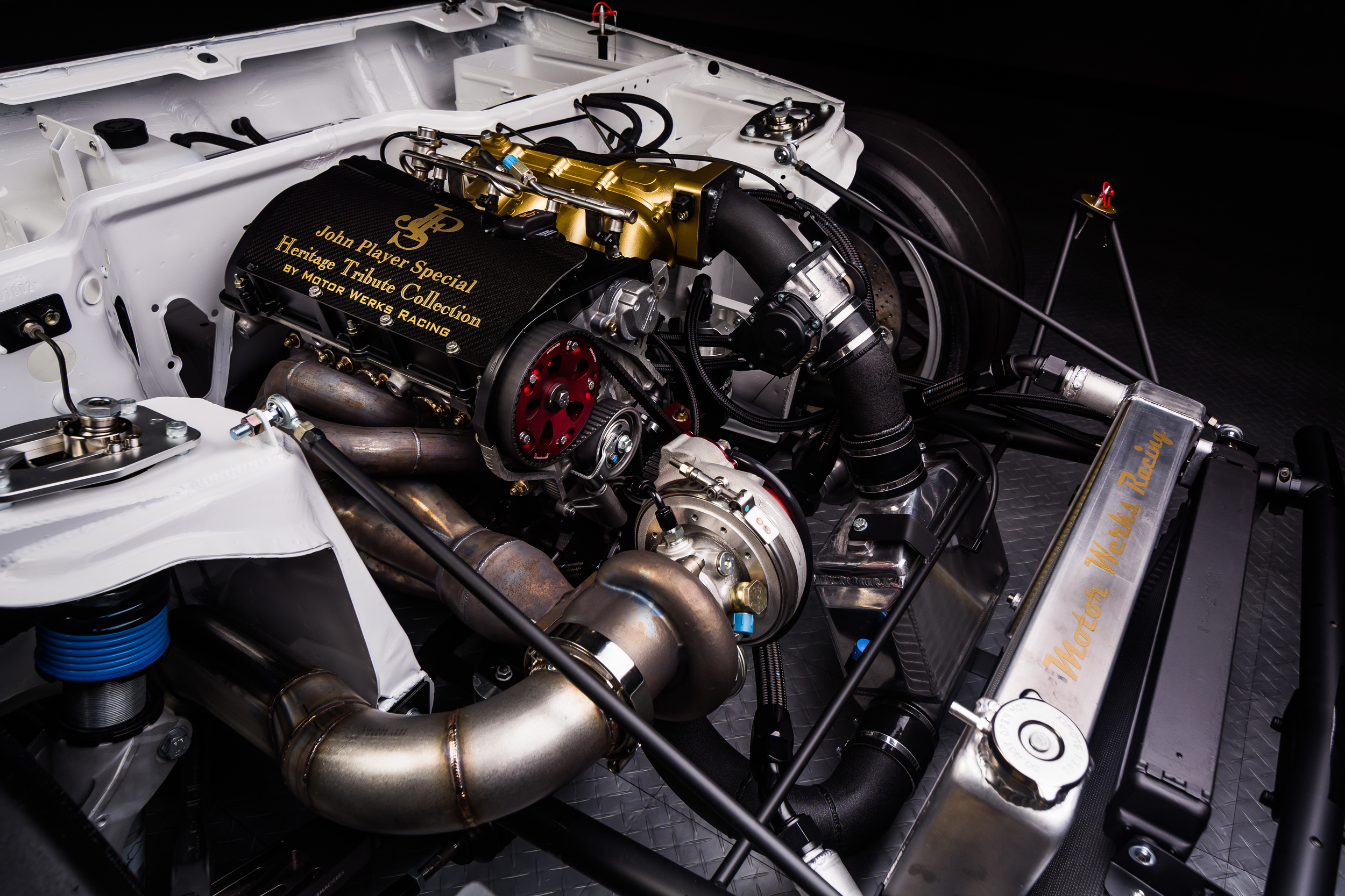 "Motor Werks Racing Porsche 924/ 944 1.8T Engine Conversion ""Patent Pending"""