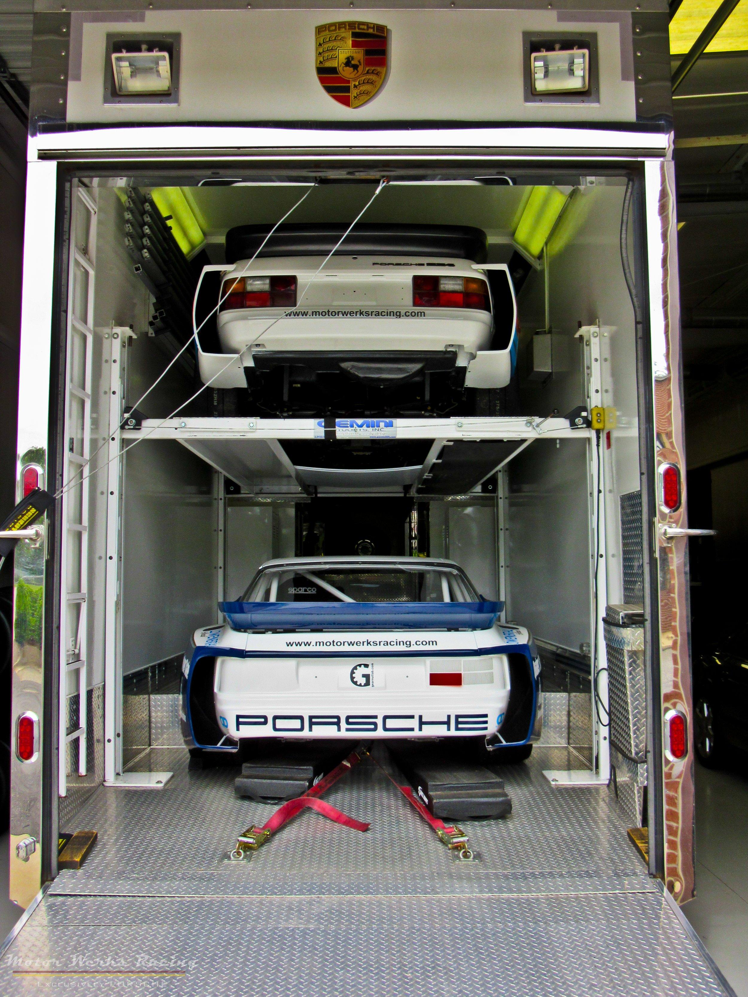 Motor Werks Racing Porsche Track Support Service