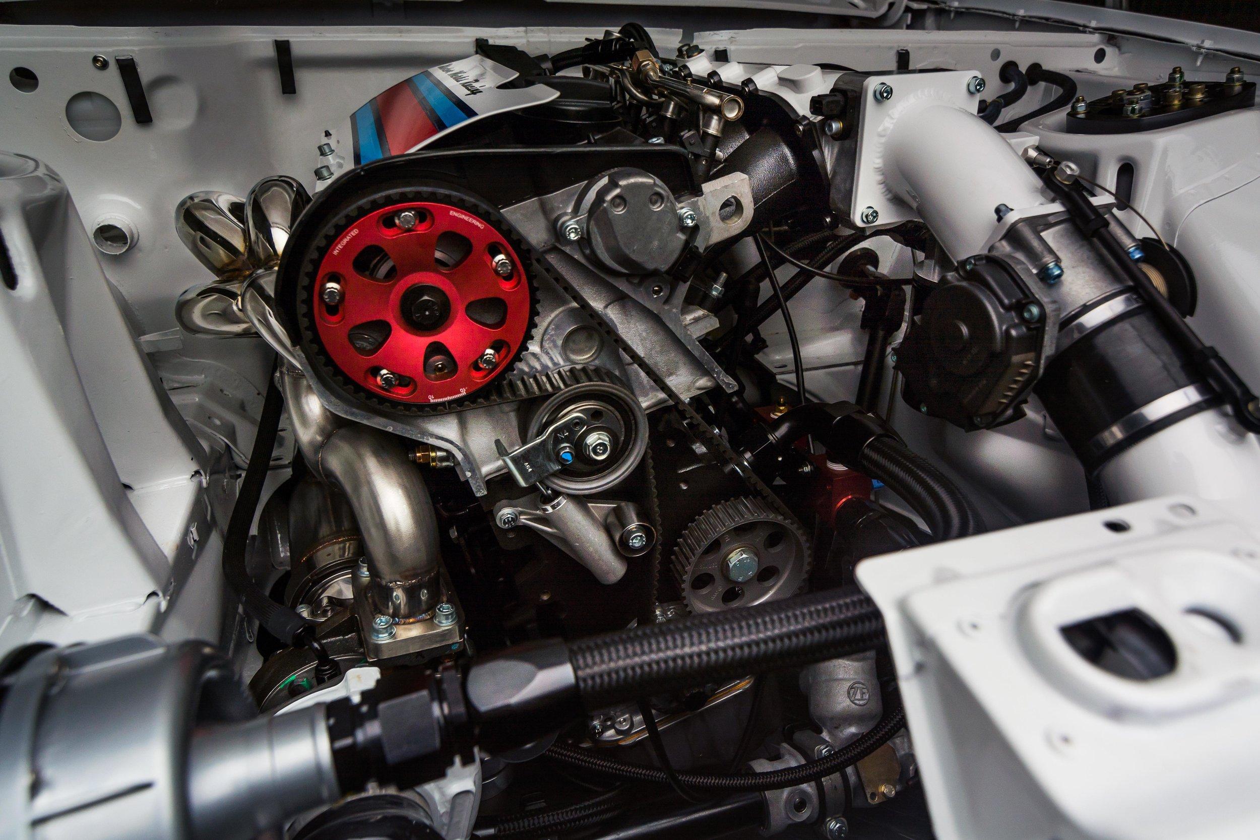 Motor Werks Racing Porsche 1.8T Engine Conversion