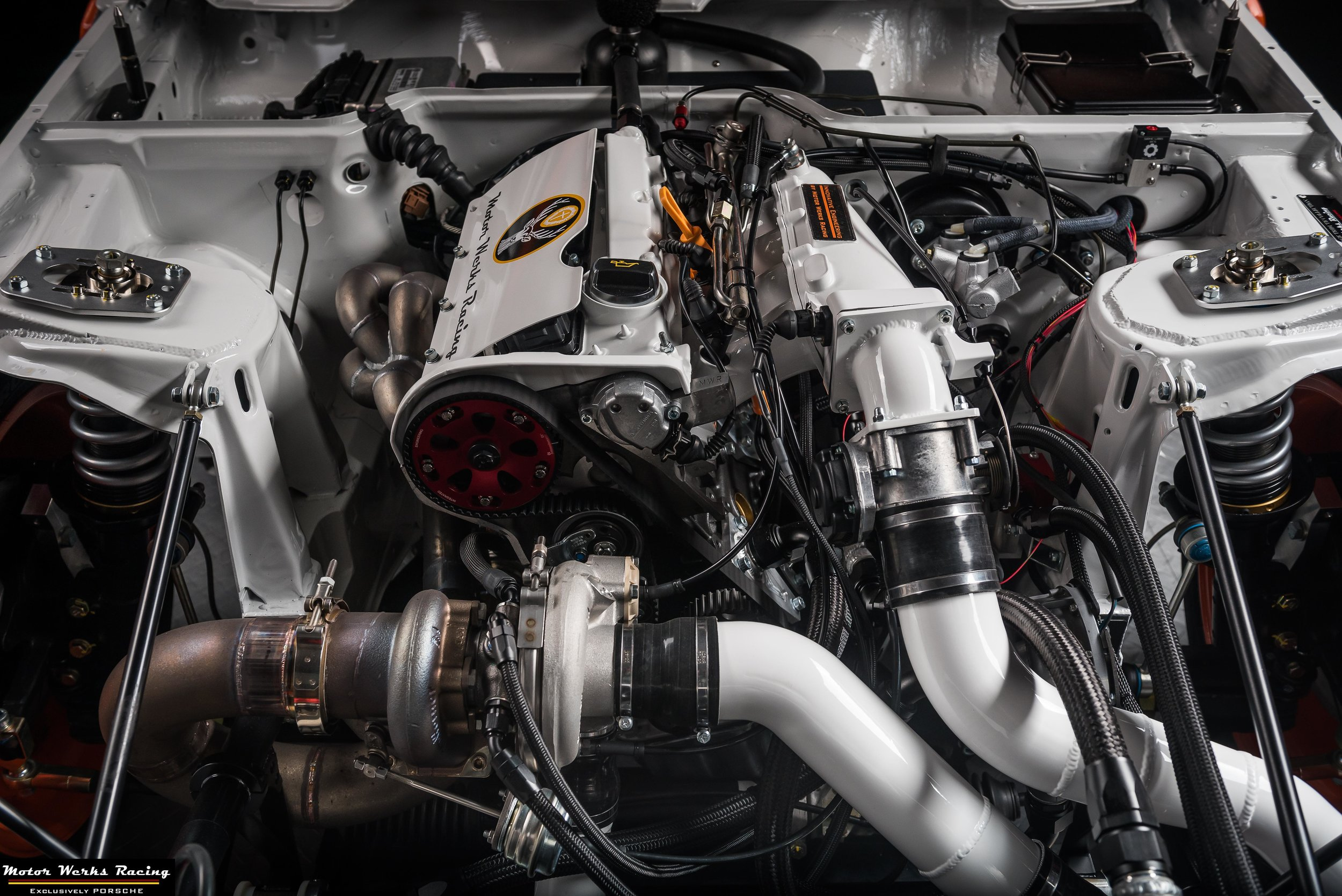 Motor Werks Racing Porsche 924 1.8T custom engine conversion