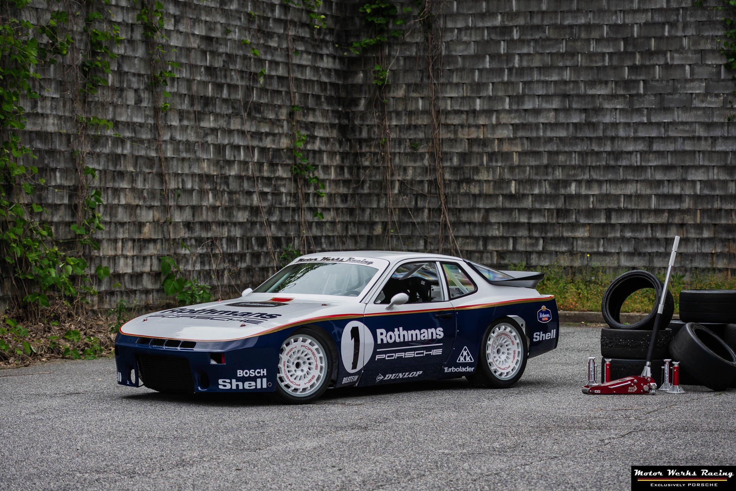 Motor Werks Racing Porsche Track Builds