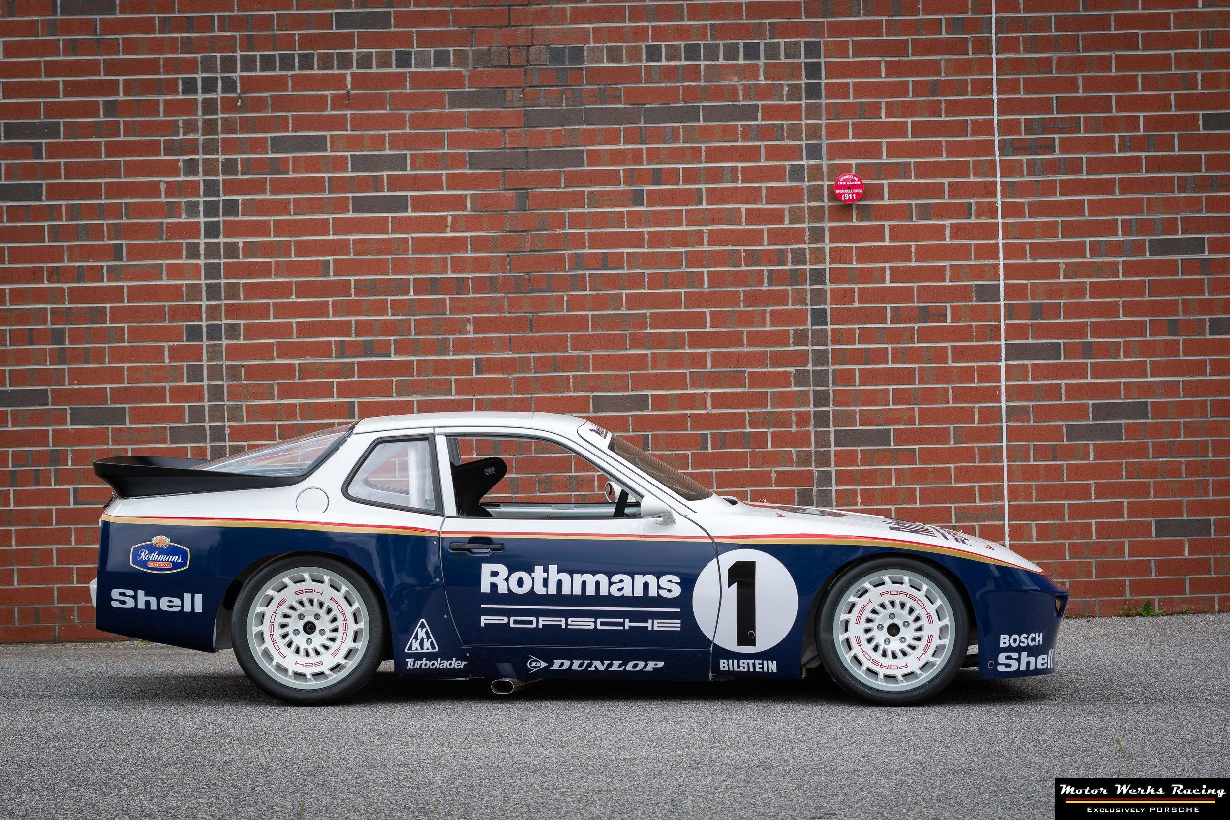 Motor Werks Racing Built Porsche Track Car