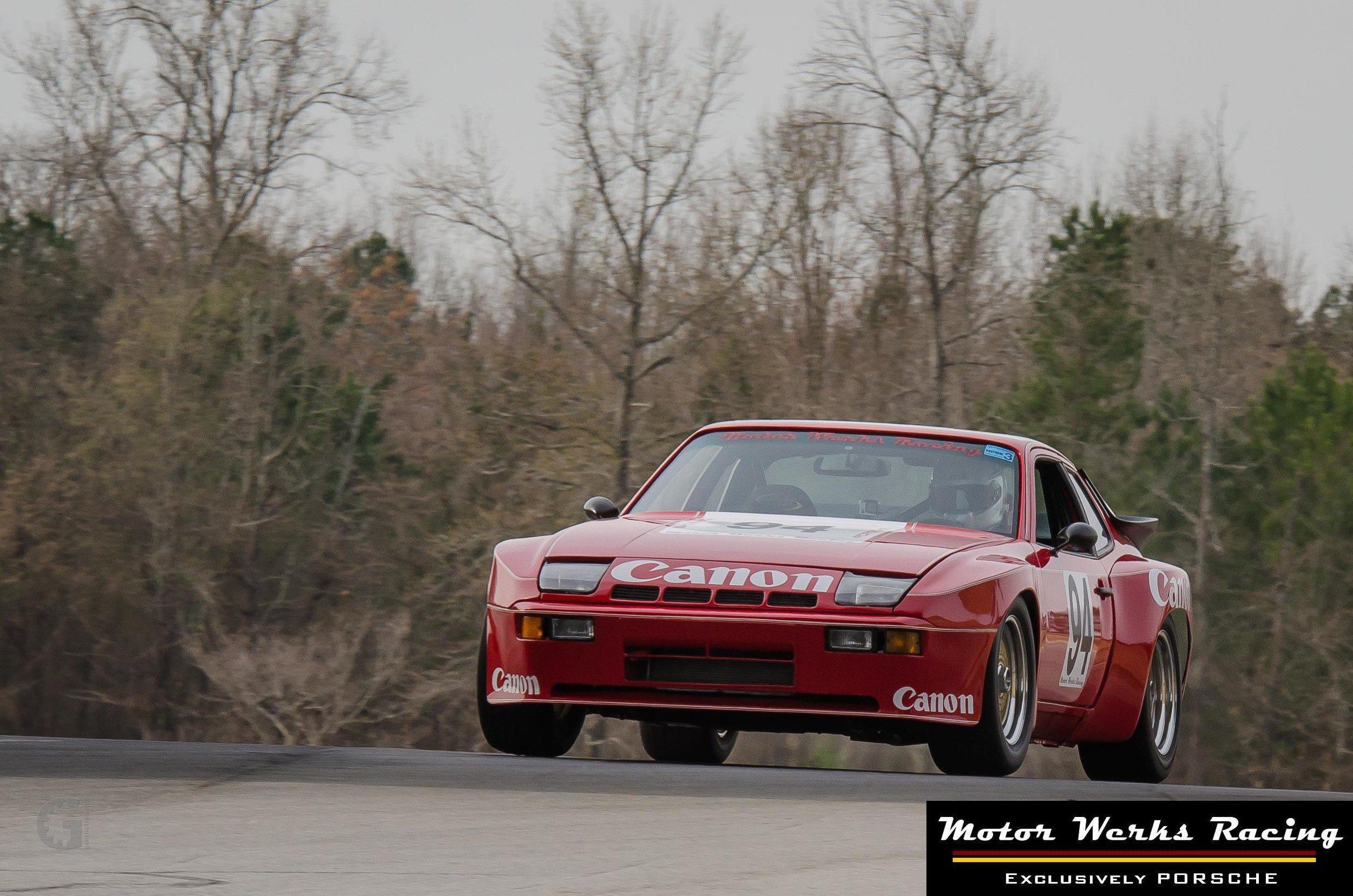 Motor Werks Racing Porsche 924 Canon Tribute