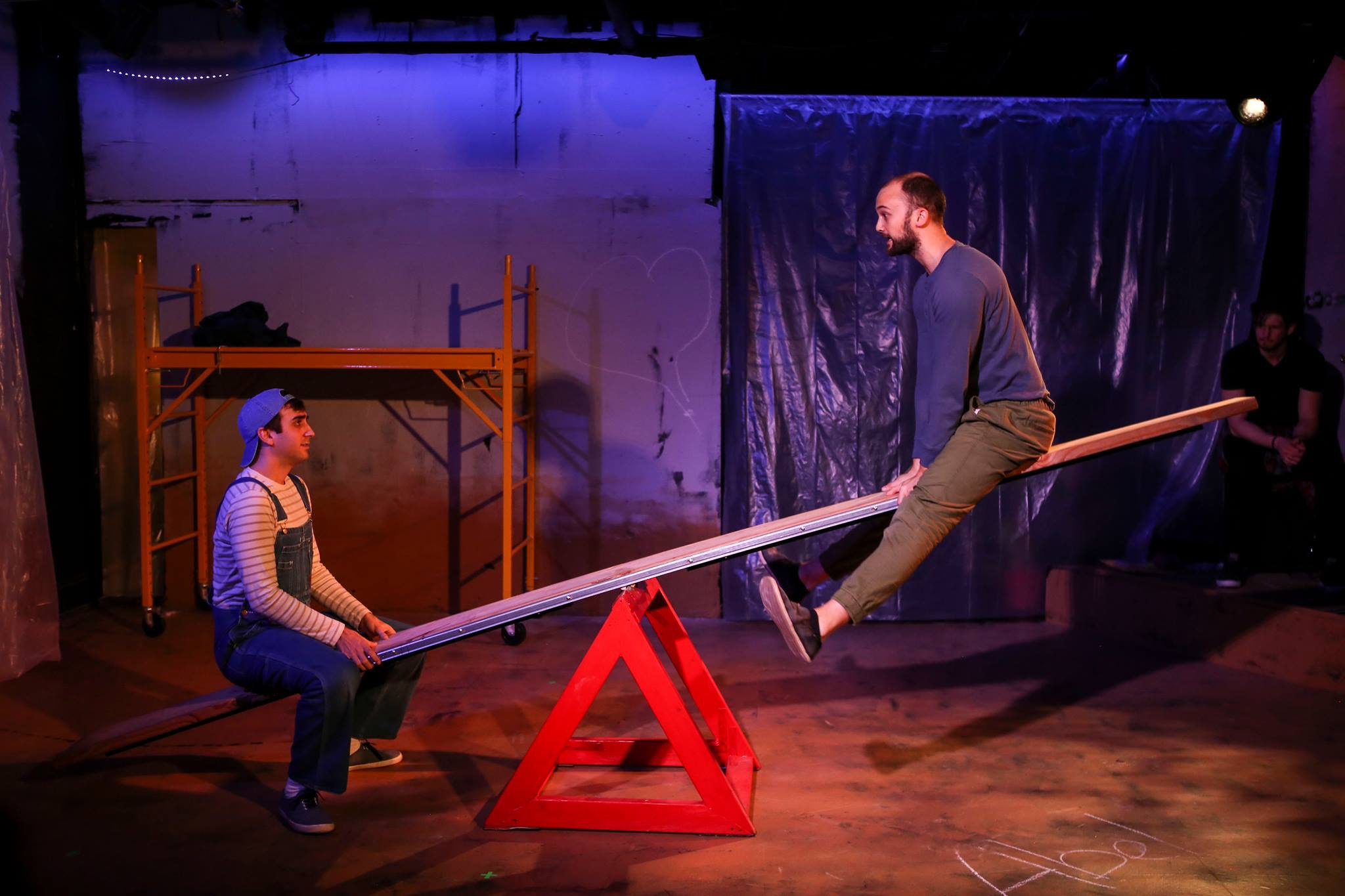 Cry Eden by Patrick Barrett, Music by Tommy Crawford, directed by Sarah Wansely at The Access Theater