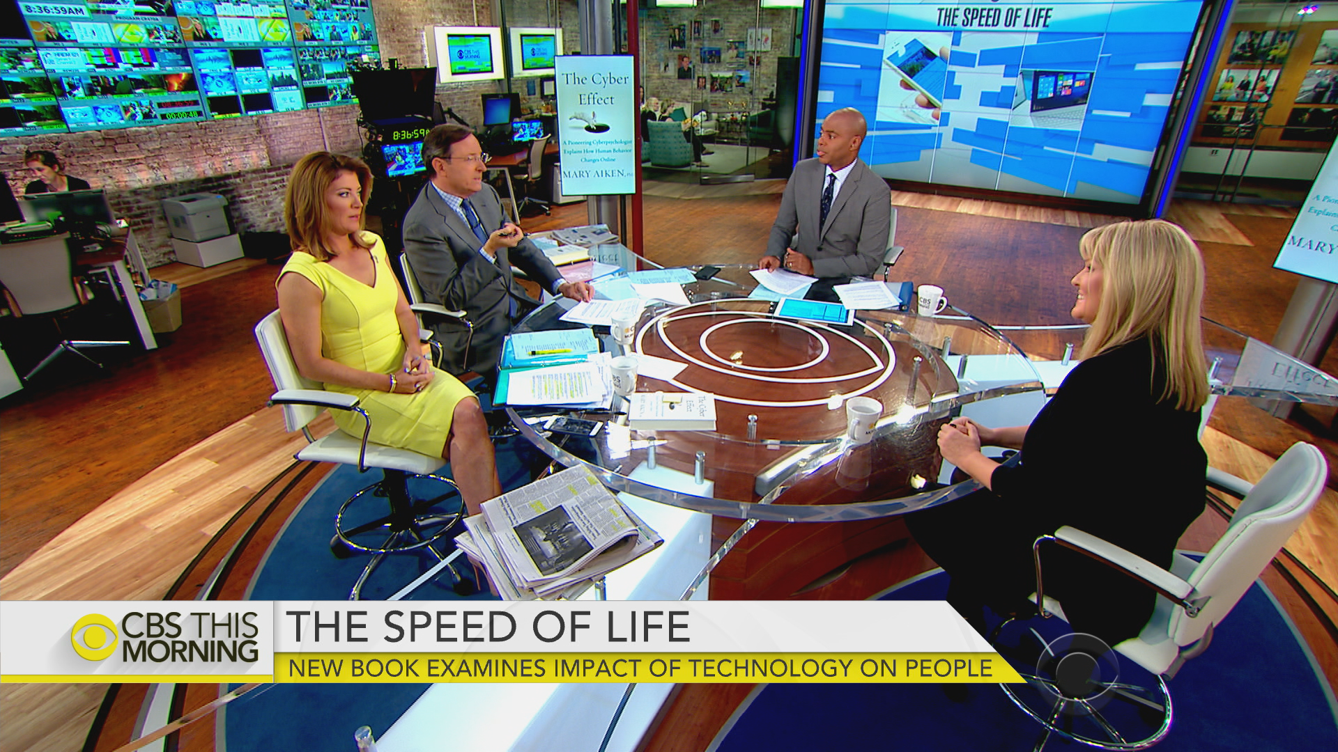 CBS THIS MORNING: Launch of the Cyber Effect