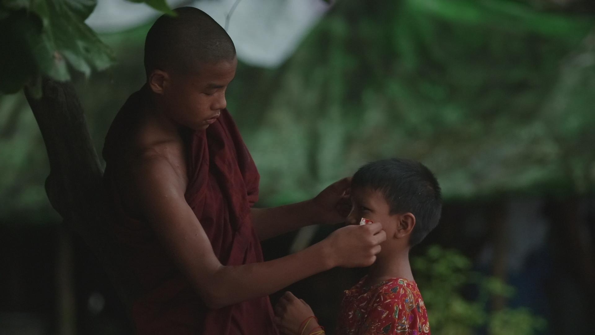 Monk and kid.JPG