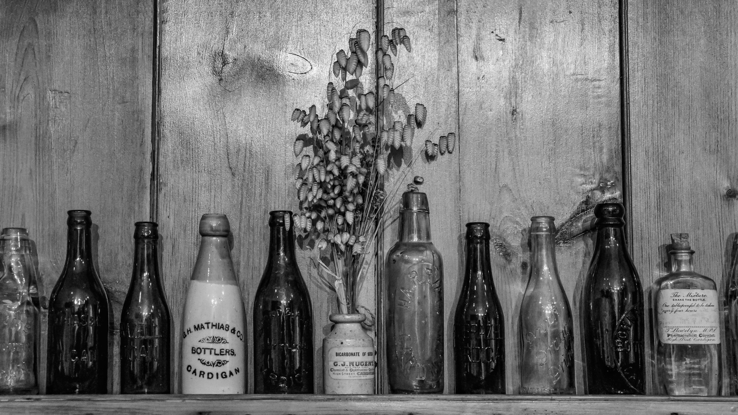 The Apothecary Shelf (Cardigan Castle)