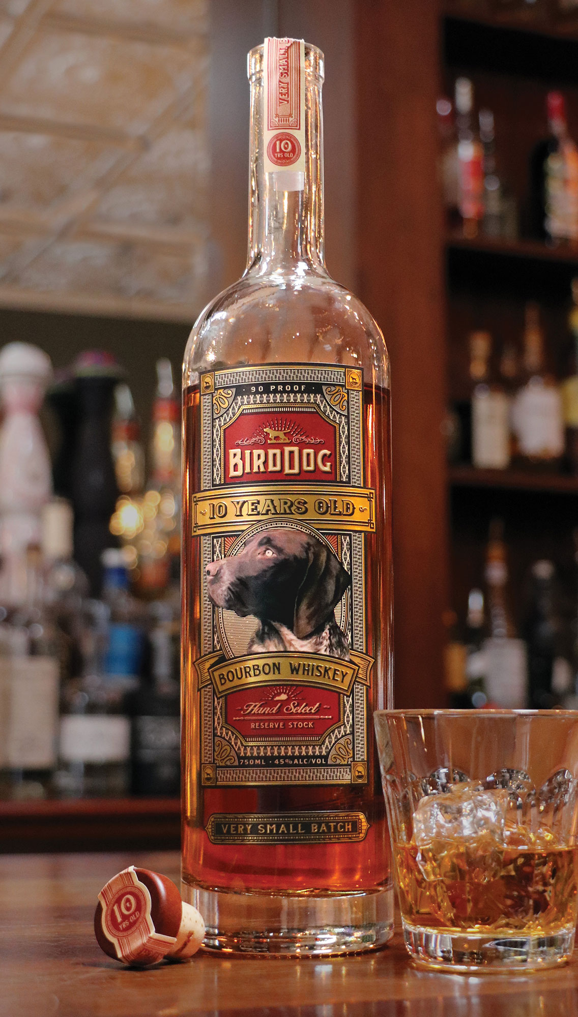 Bird Dog 10 Year Old Kentucky Bourbon