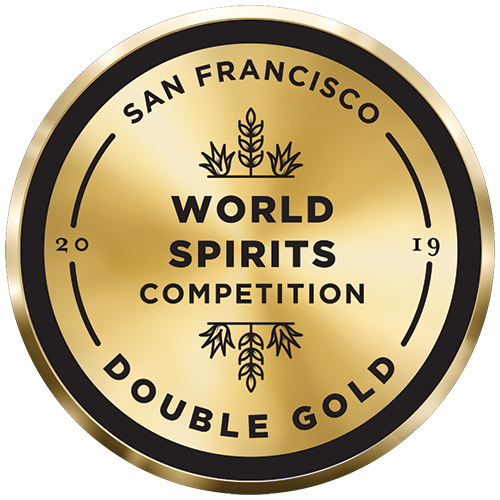 DOUBLE GOLD, 2019 San Francisco World Spirits Competition