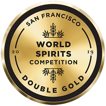 Double Gold - San Francisco World Spirits Competition 2019