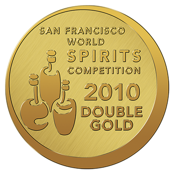 Double Gold - San Francisco World Spirits Competition 2010