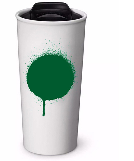 Beyond the paper cup - Starbucks ceramic and stainless cups make a perfect gift to both a coffee lover and the planet.