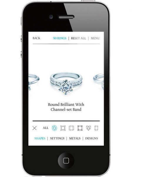 I do. - Tiffany's Ring Finder app allowed users to explore engagement rings, virtually try on rings of varying carat size, and share with friends. The diamond consultation feature offered allowed users to speak to an expert or make an in-store appointment. Customers engaging with the app had a signifcantly  higher closure rate and higher value than other engagement ring purchasers.