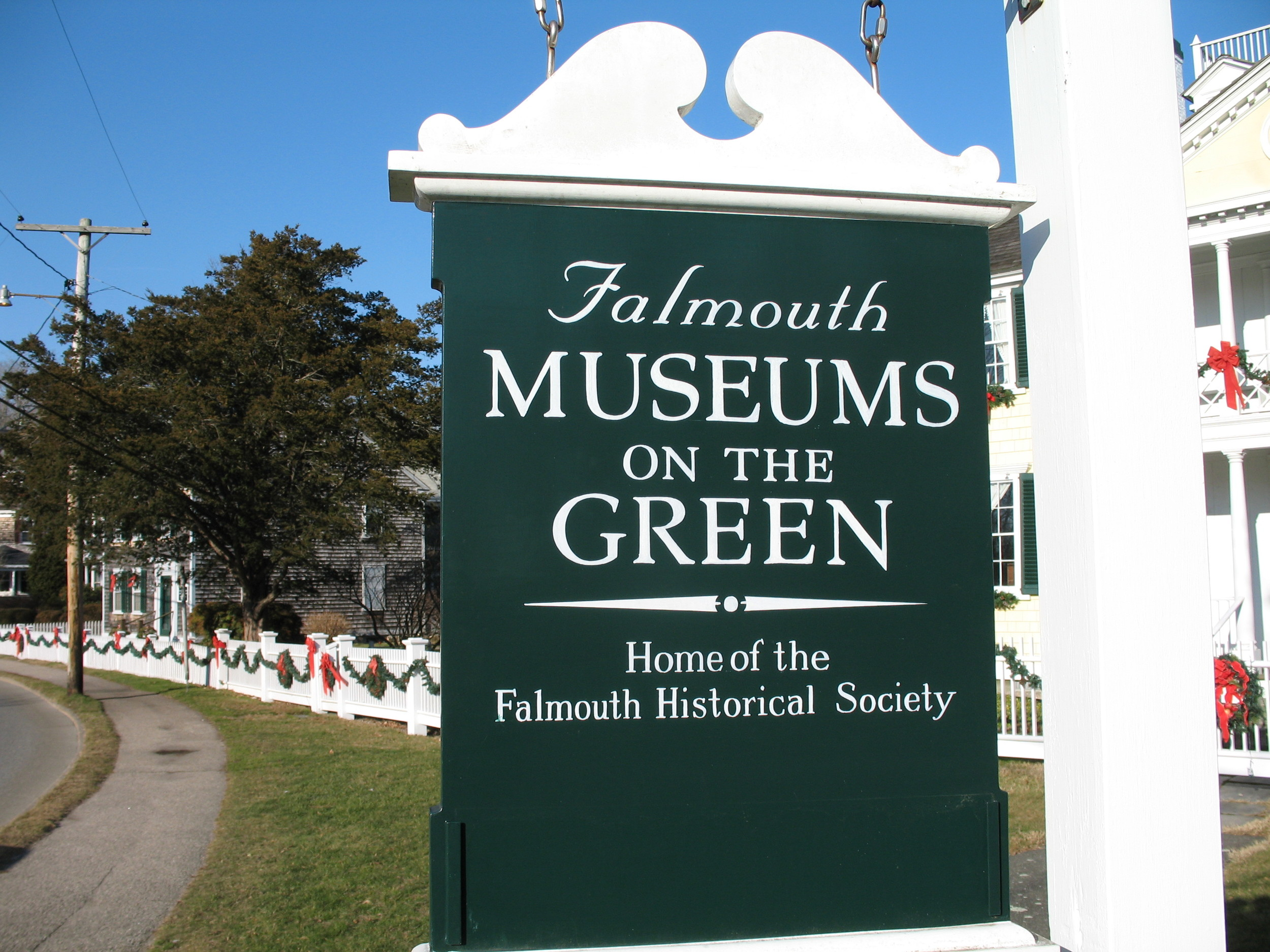 The Falmouth Village Green Historic District is a historic district encompassing the historic village center of Falmouth, Massachusetts.