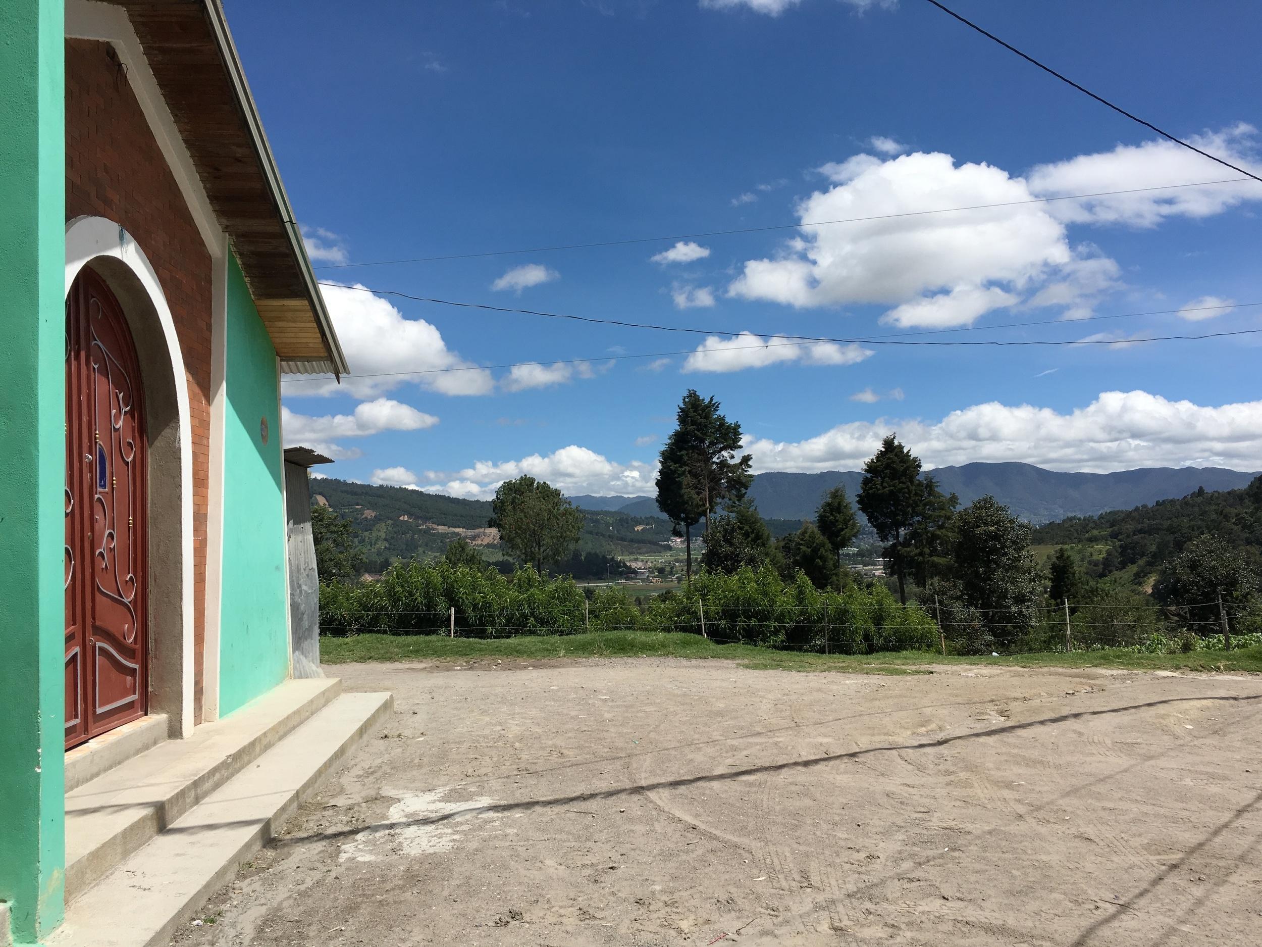Our partner community, Candalaria, right outside Quetzaltenango, Guatemala