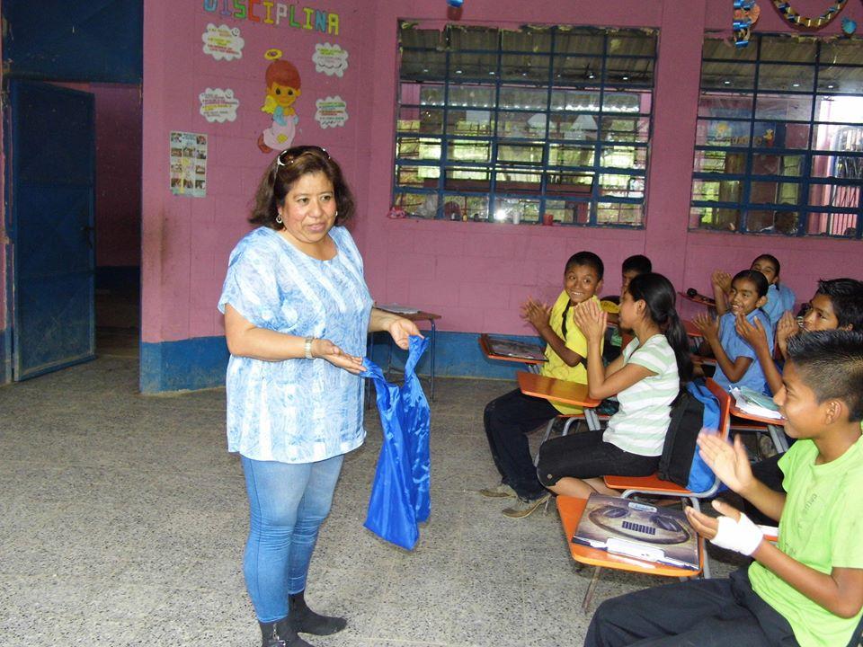 PEILE working with schoolchildren