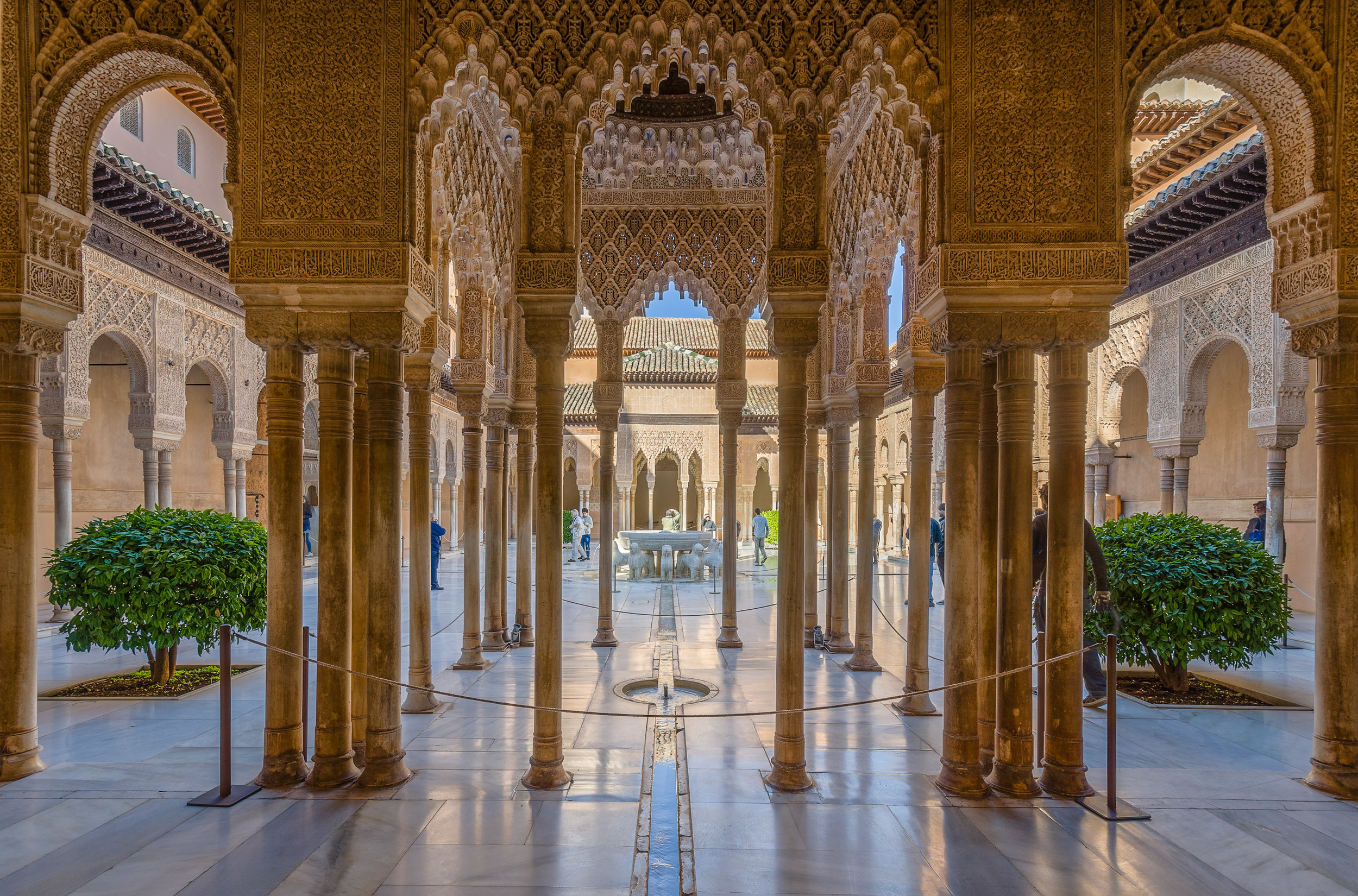 The Palace at Alhambra
