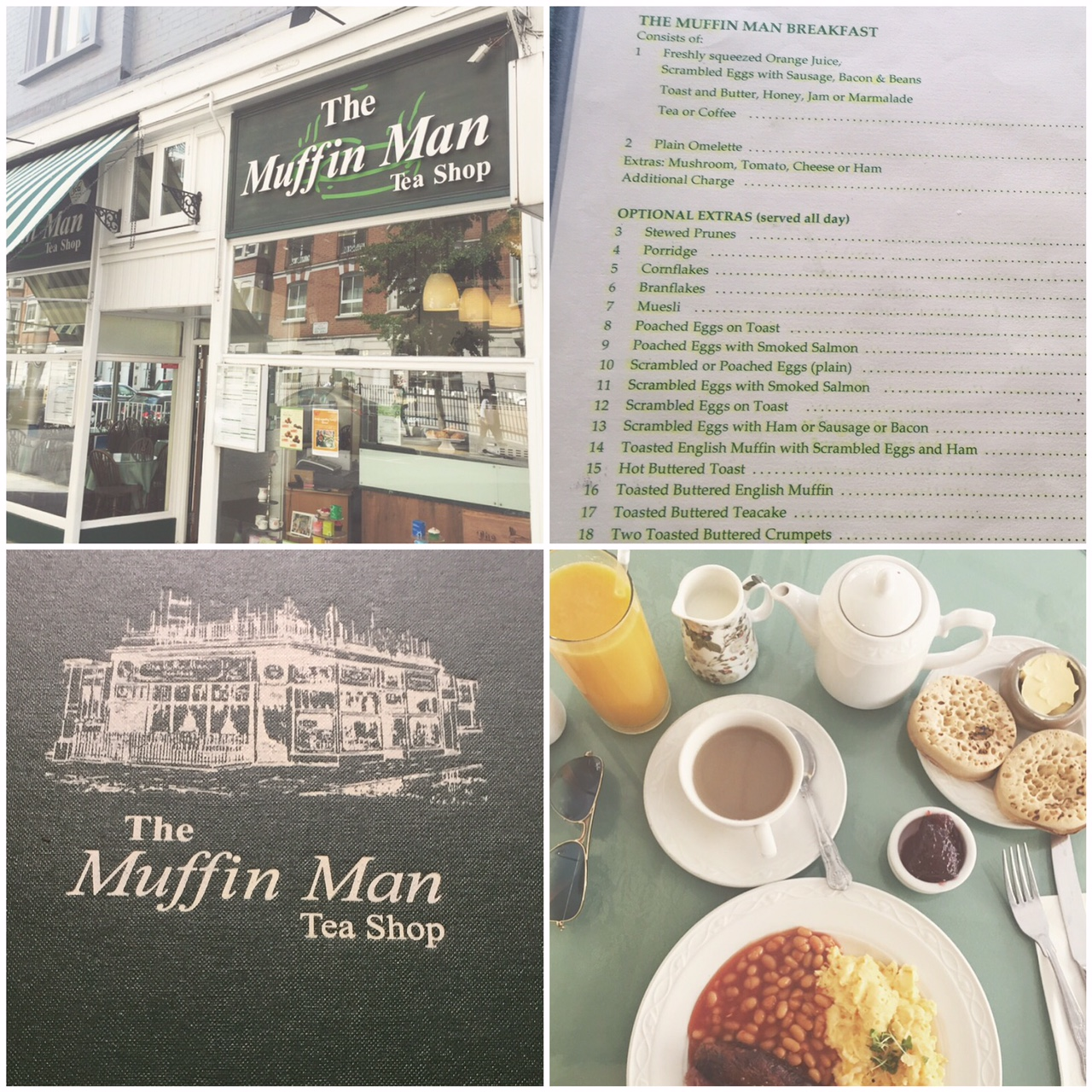 The Muffin Man Tea Shop