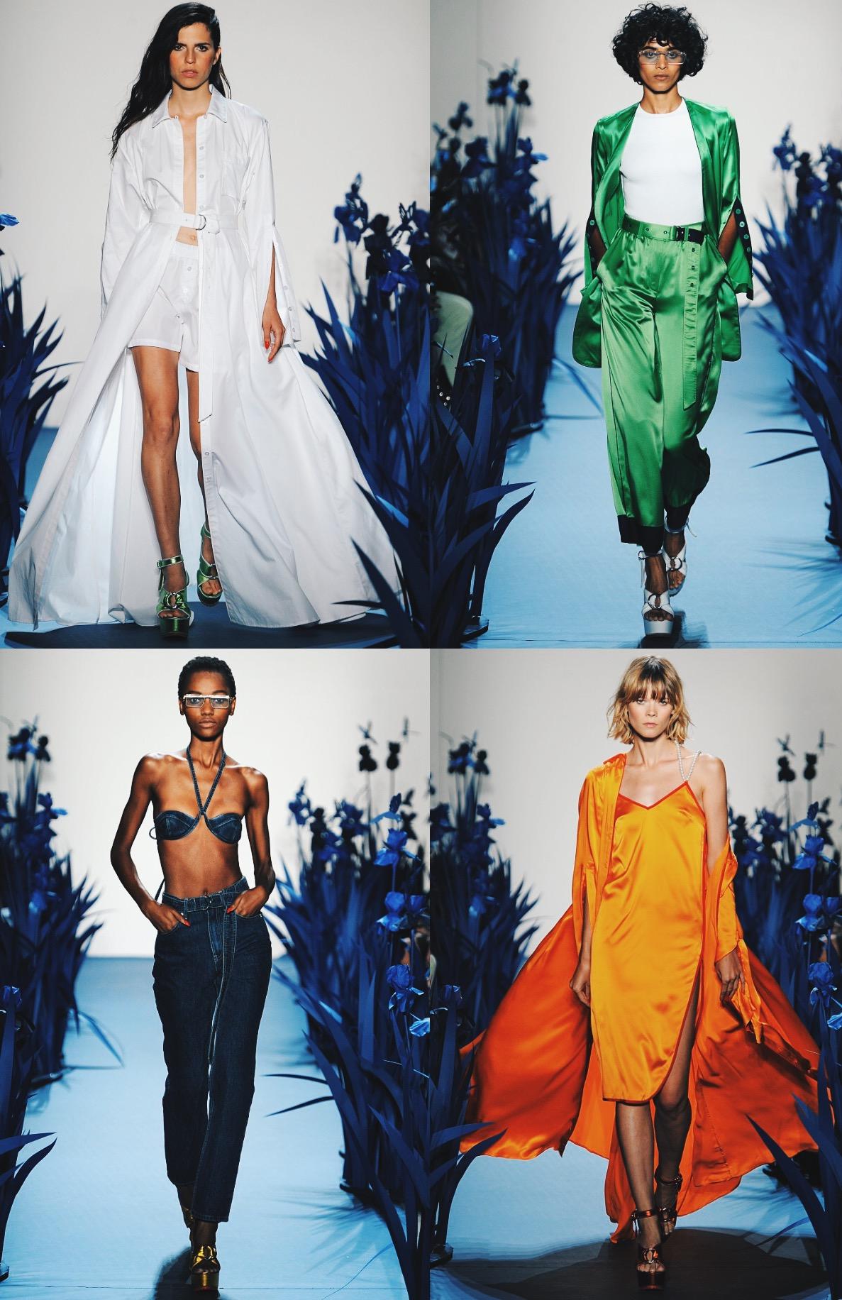 Adam Selman runway show. Photographer:Maria Valentino